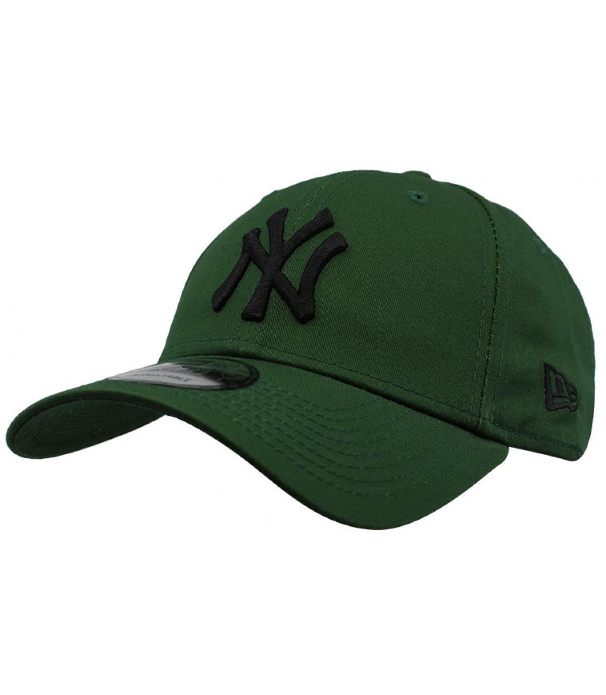 Cap NY grün schwarz