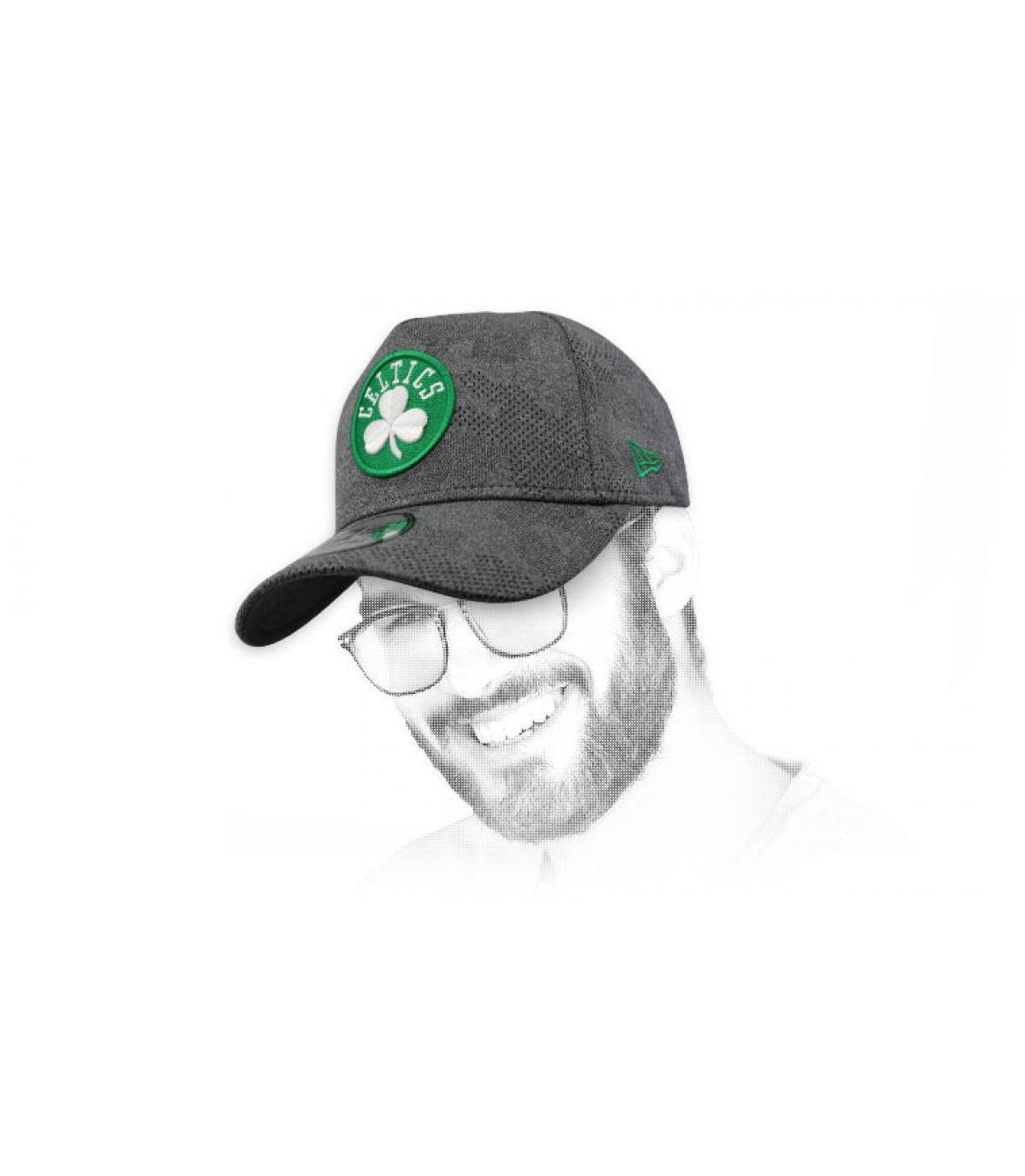 Cap Celtics grau