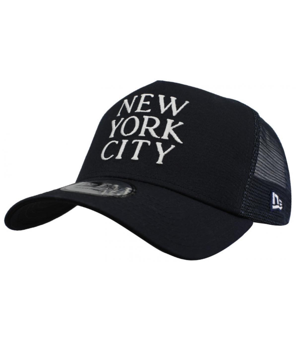 trucker New York schwarz