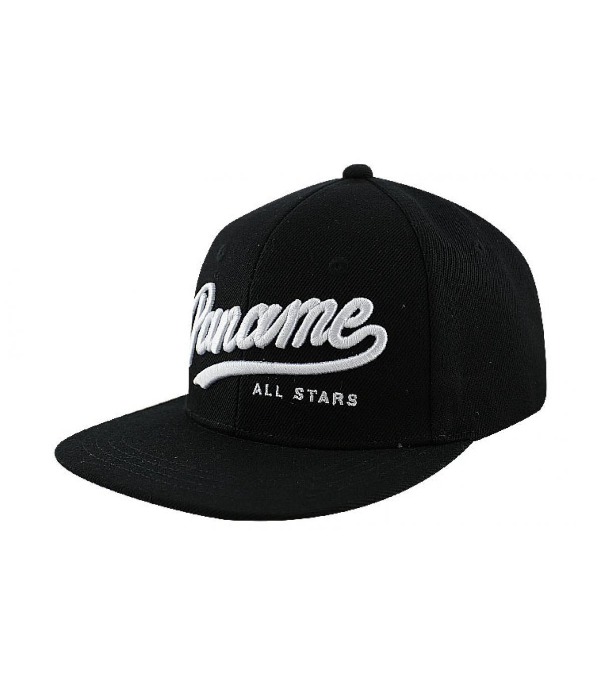 Wrung schwarze Cap