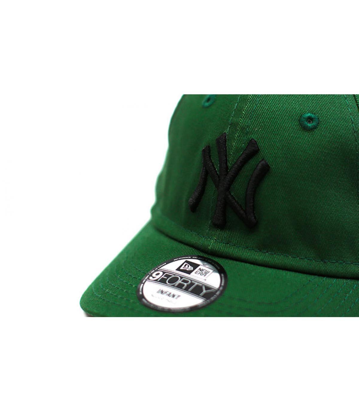 Details Baby Cap League Ess NY green black - Abbildung 3