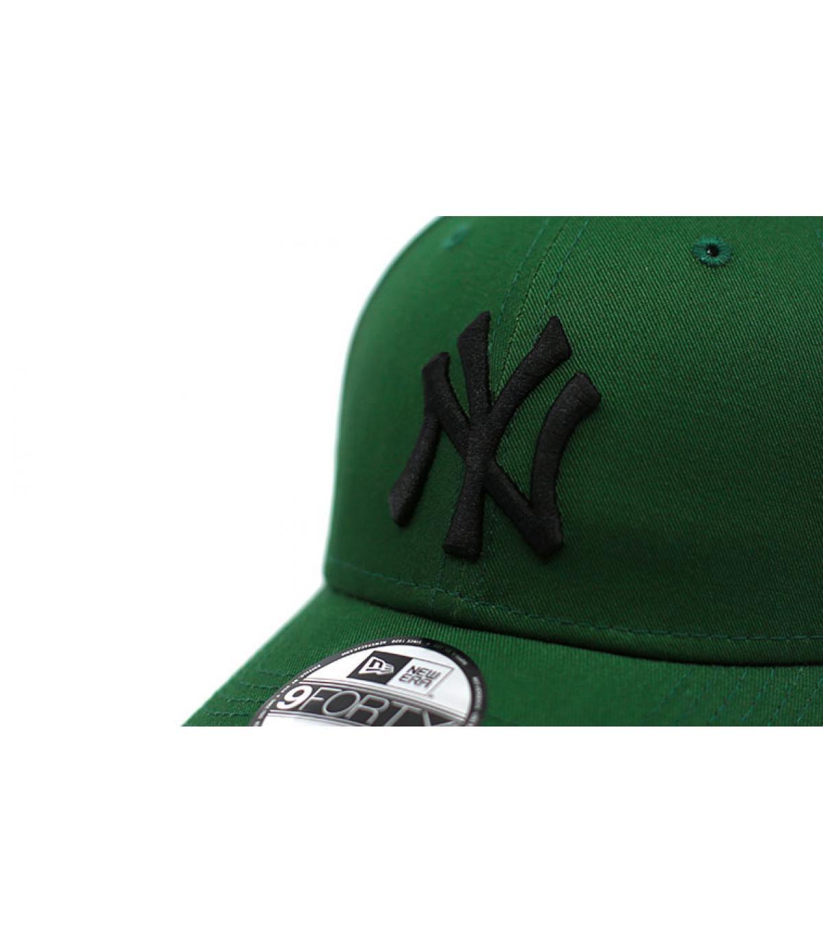 Details Kinder Cap League Ess NY green black - Abbildung 3