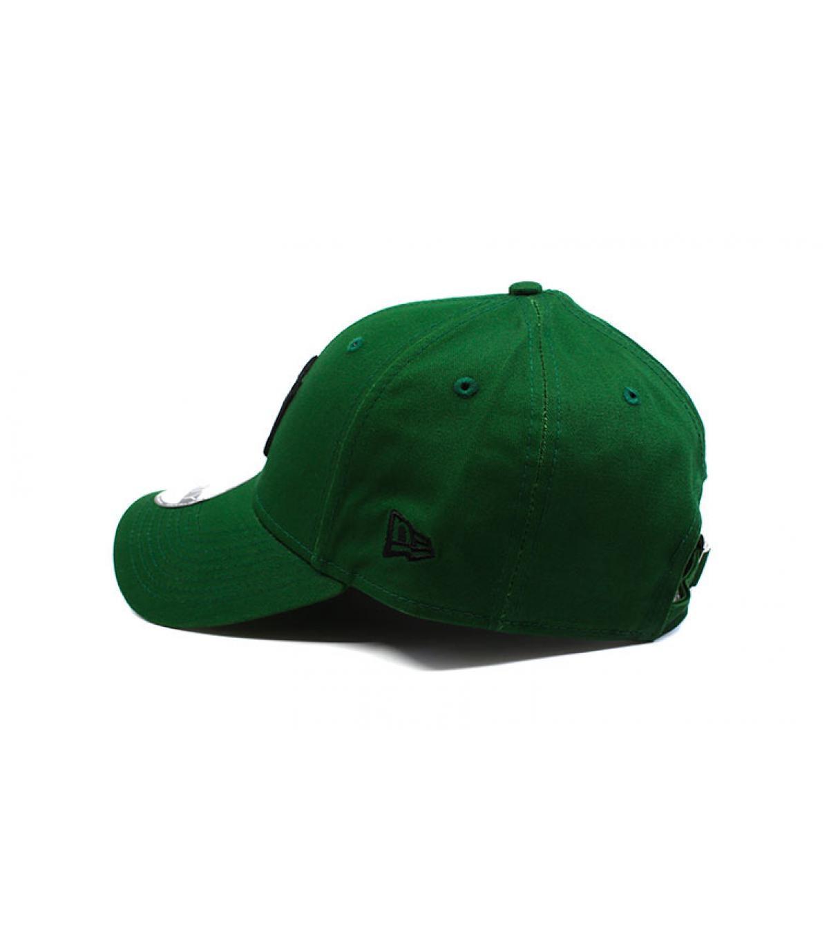 Details Kinder Cap League Ess NY green black - Abbildung 4