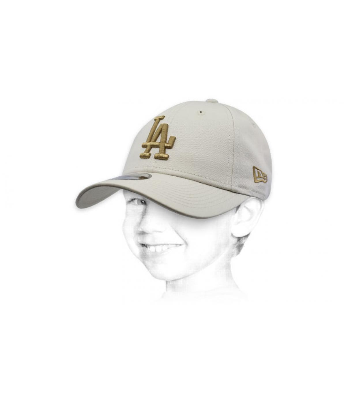 Kinder Cap beige LA