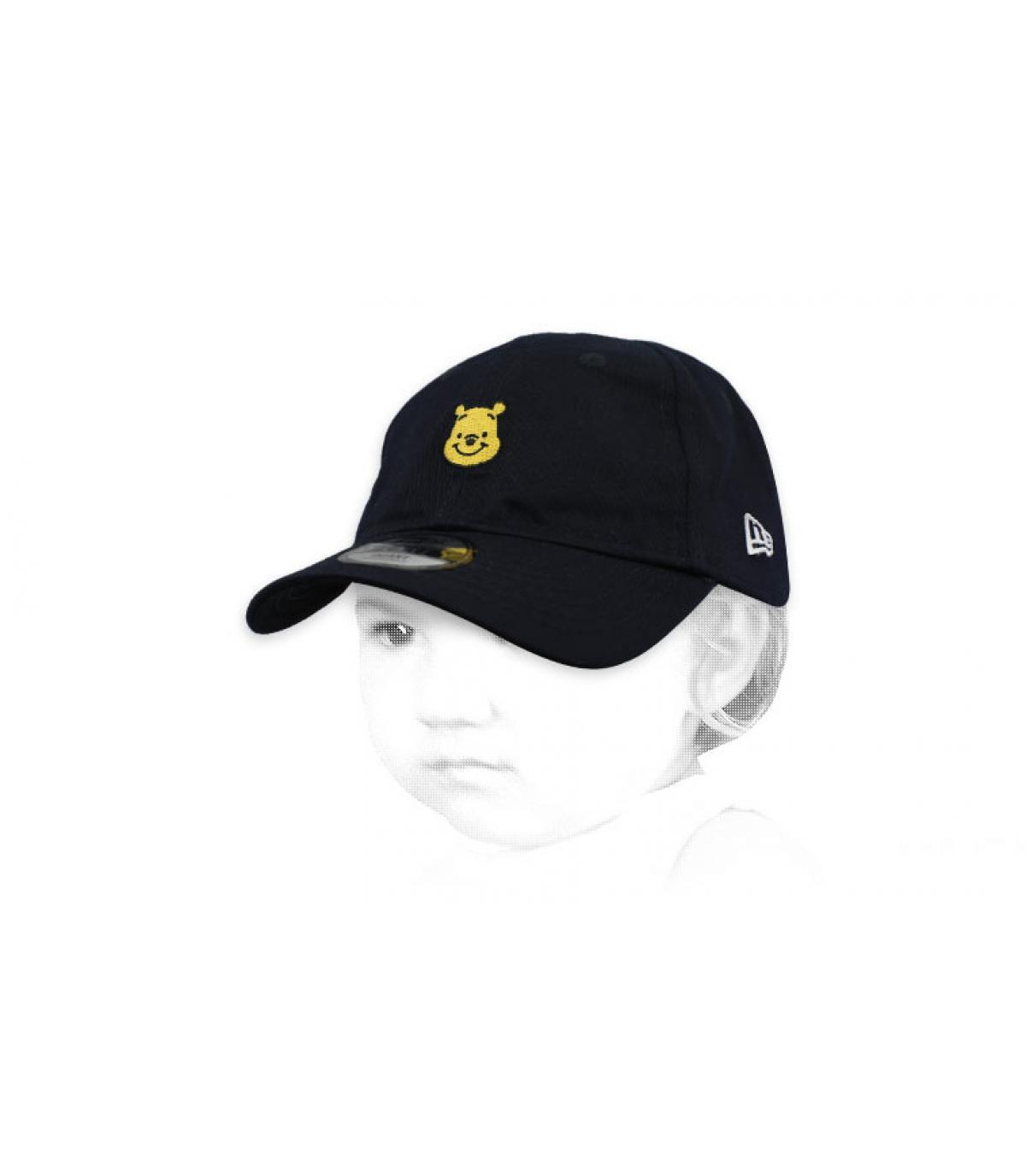 Baby Cap Winnie schwarz