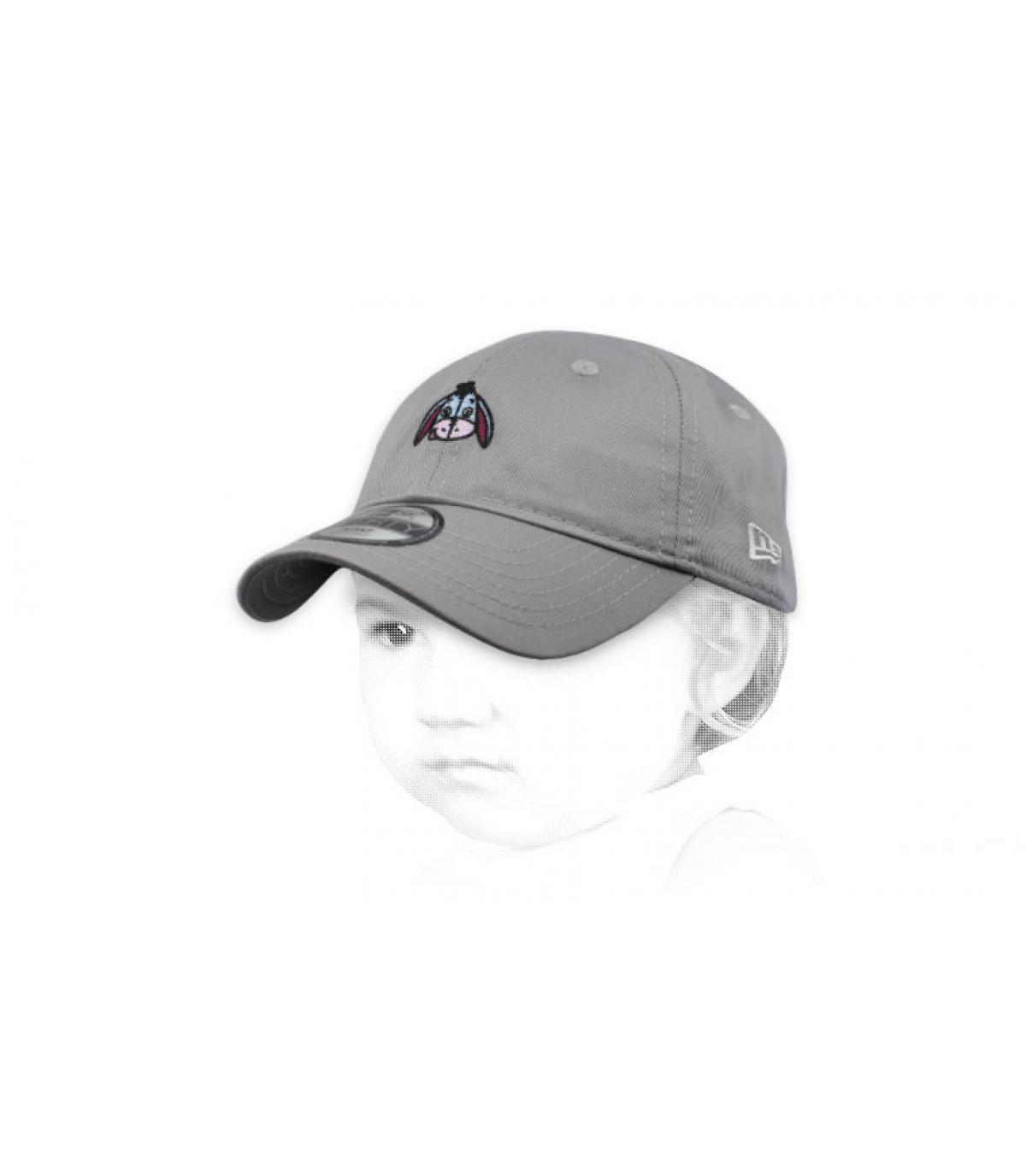 Baby Cap I-Aah grau