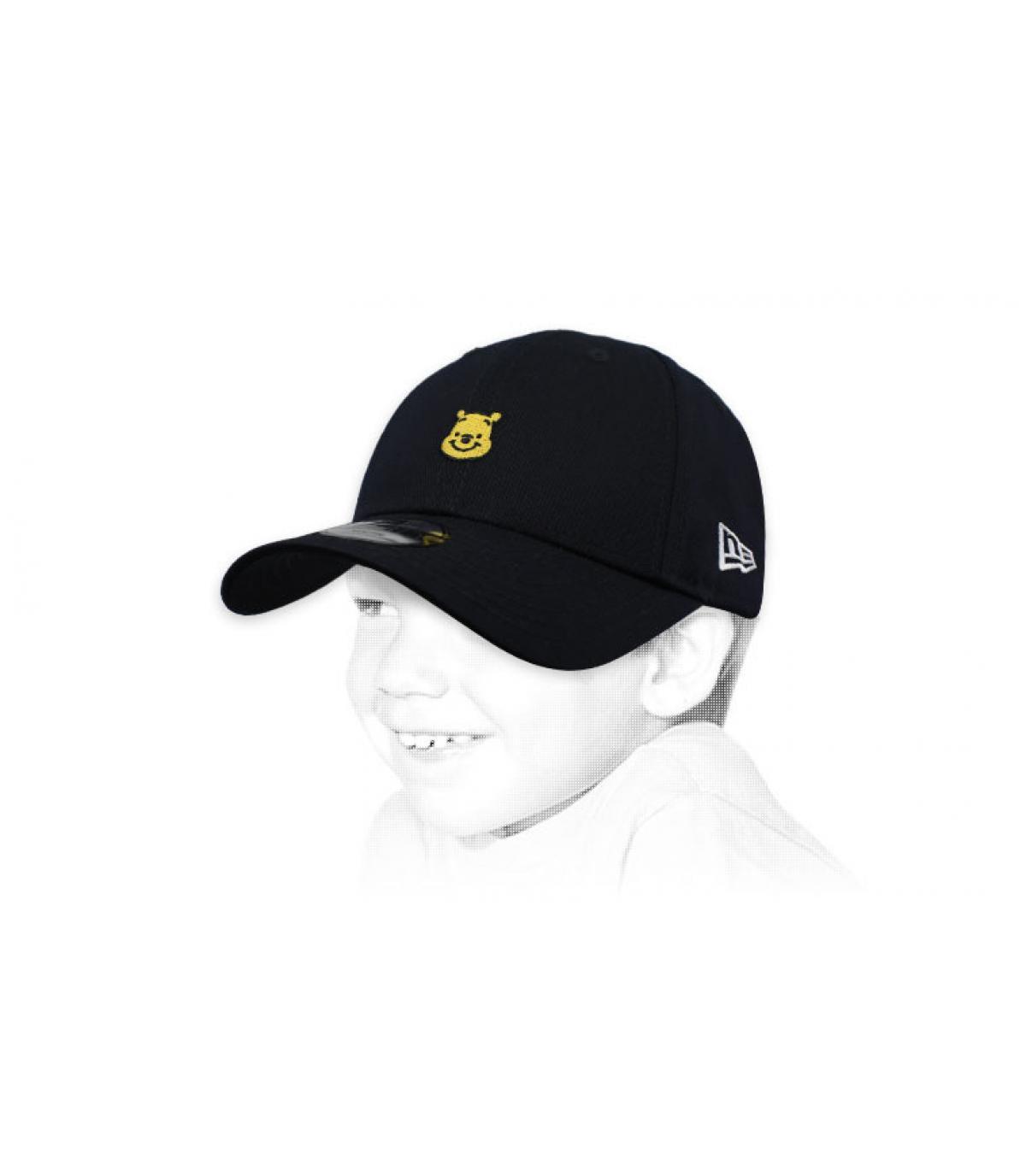 Kinder Cap Winnie schwarz