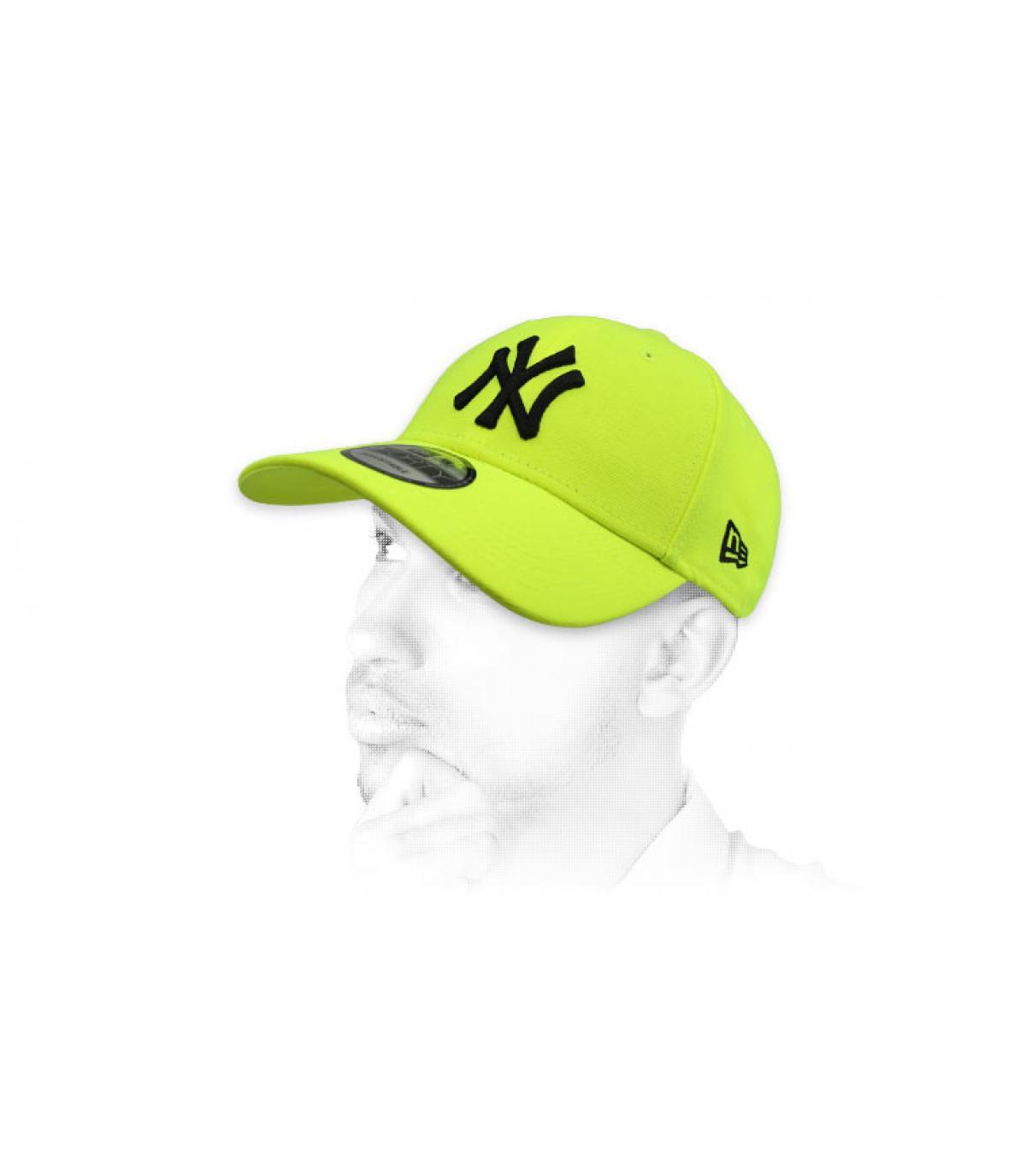 Cap NY neongelb