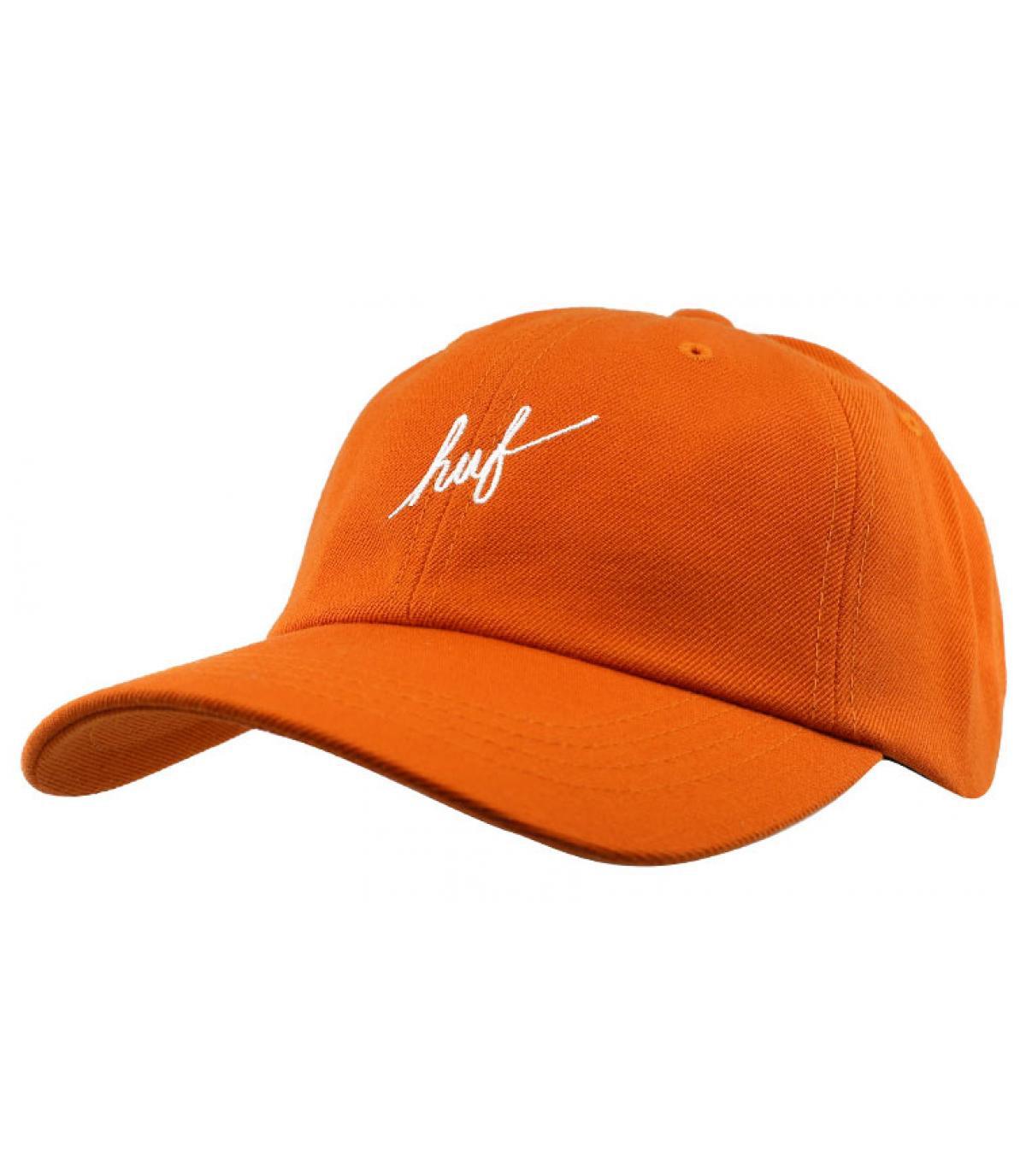 Cap Huf orange