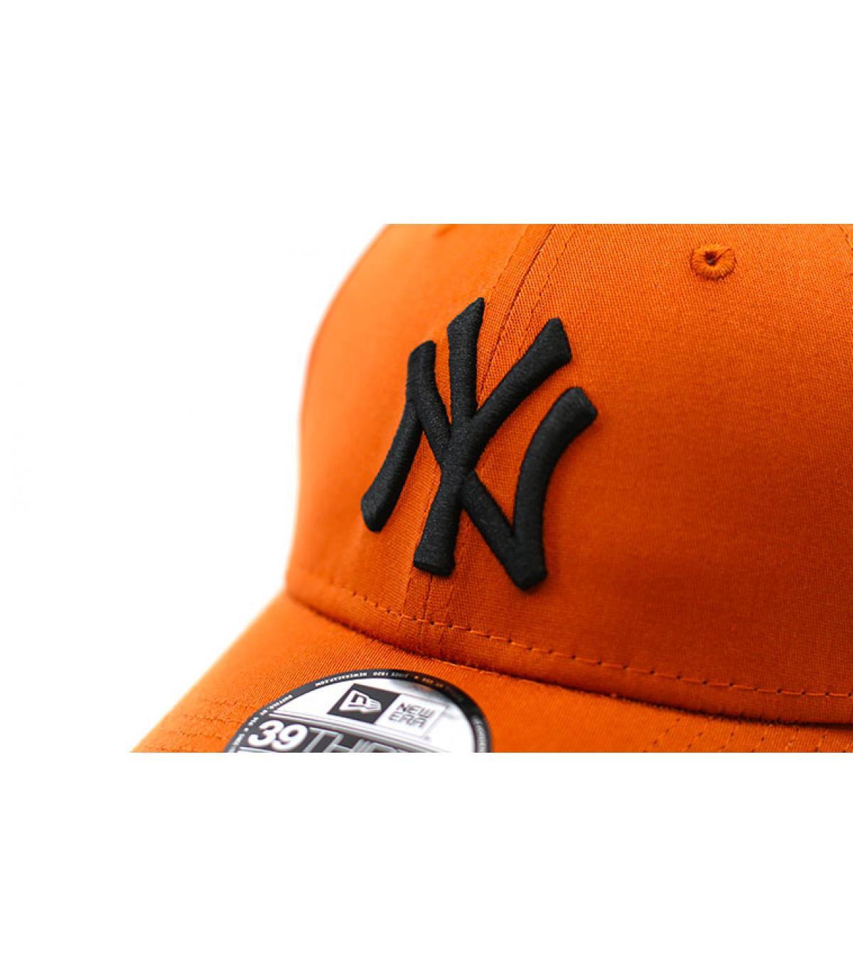 Details Cap League Ess NY 3930 rust black - Abbildung 3