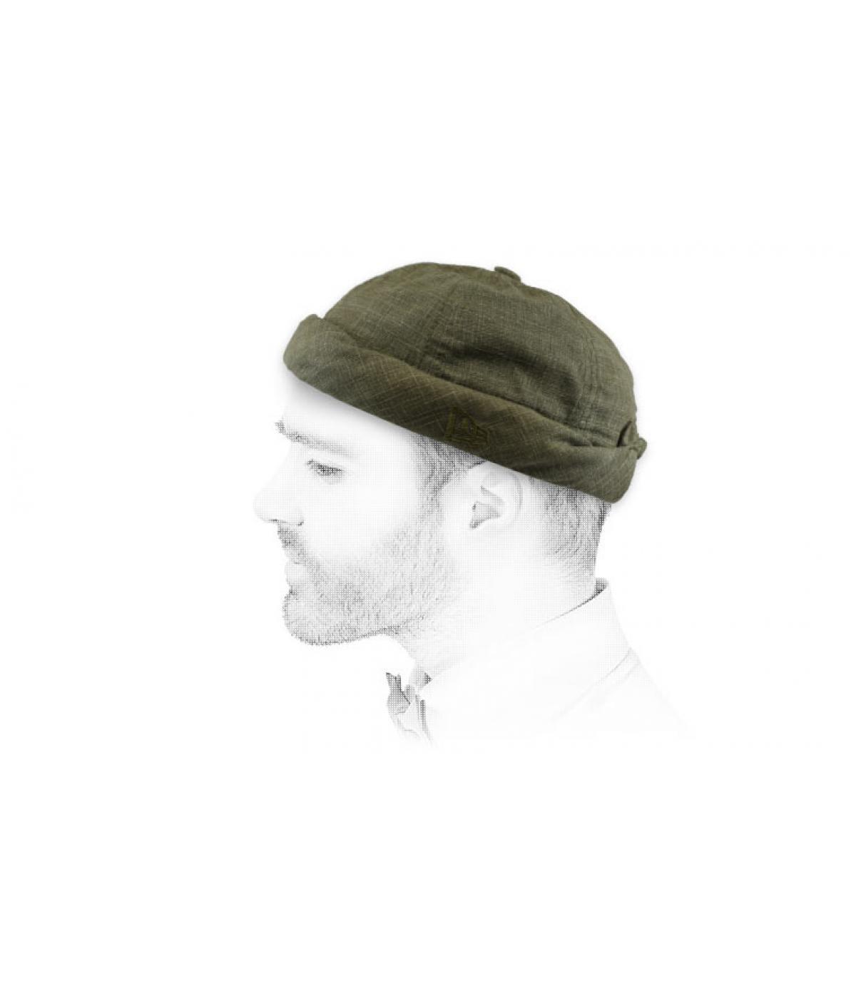 Docker Mütze olivgrün