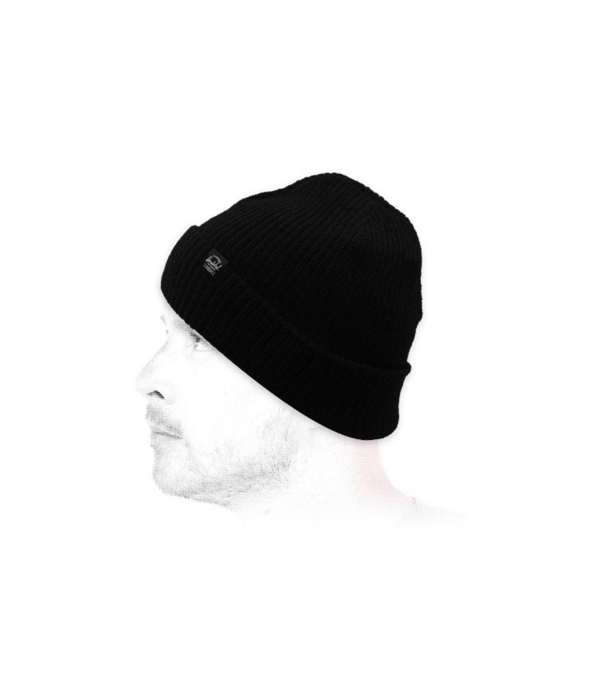 Mütze mit Rand schwarz Herschel