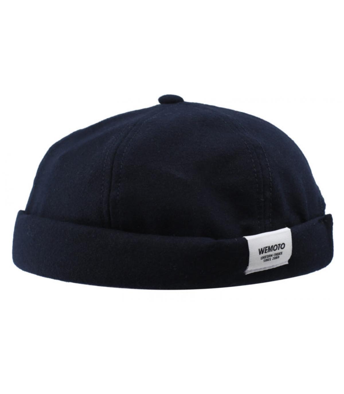 Docker Mütze marineblau Wemoto
