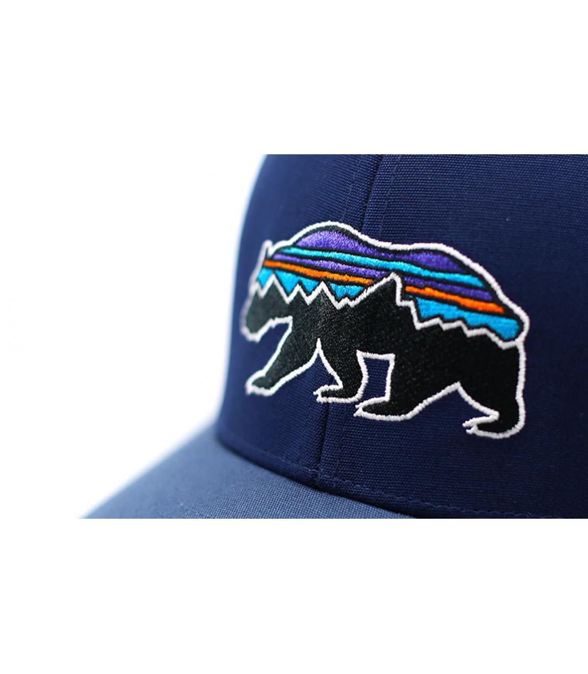 Details Kids Trucker Fitz Roy Bear navy - Abbildung 3