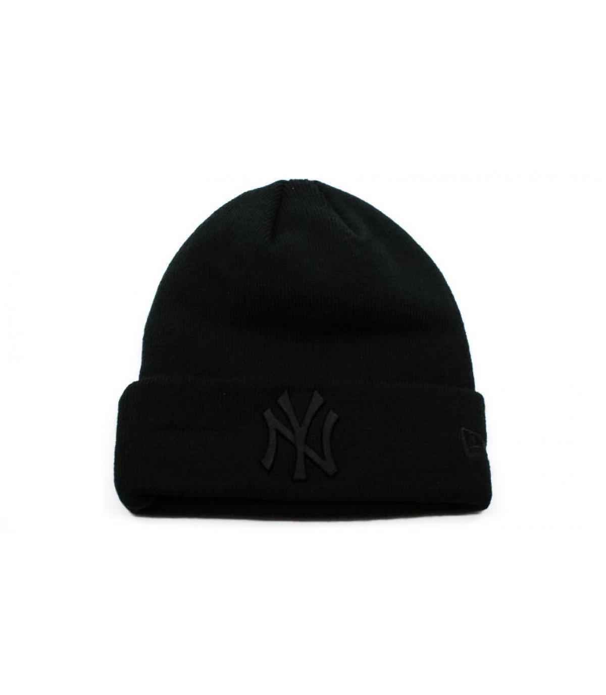 Details Mütze MLB Essential Cuff NY black - Abbildung 2