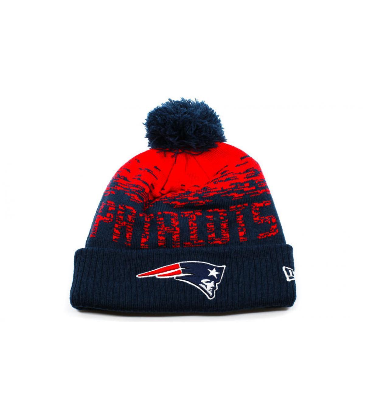Mütze Patriots blau rot