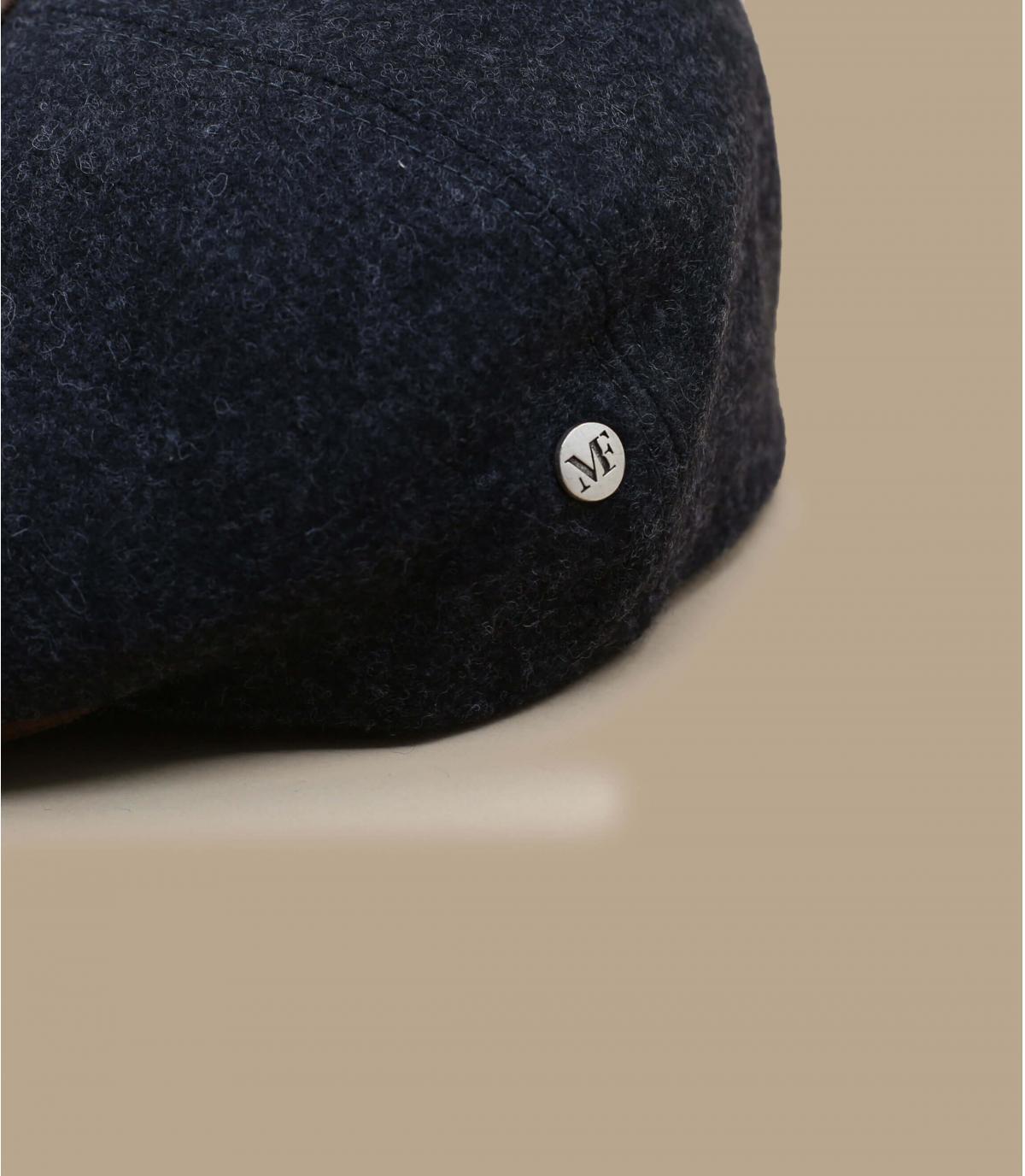 Cap Wolle schwarz