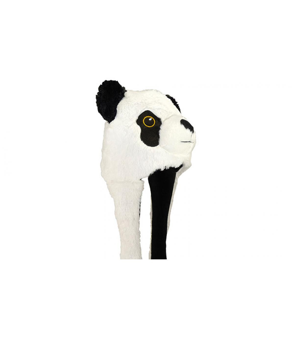 Fliegermütze Panda Kinder