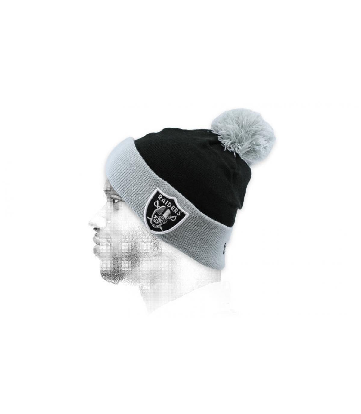 Mütze Raiders schwarz