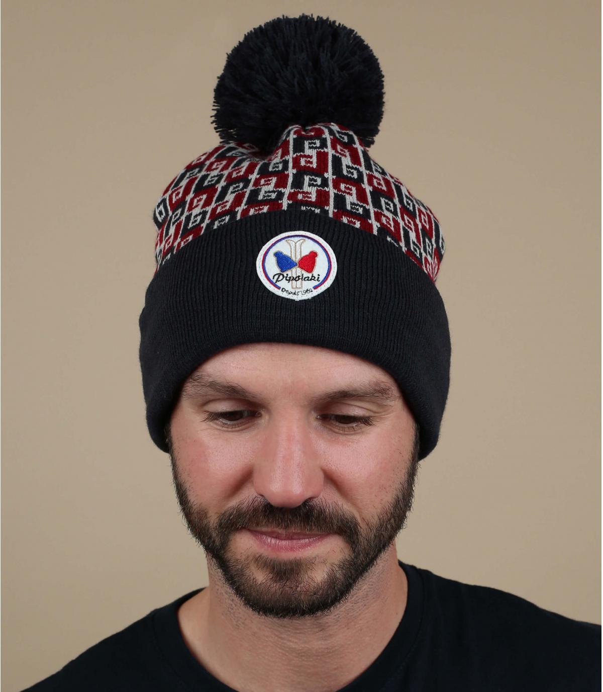 Mütze Pipolaki blau