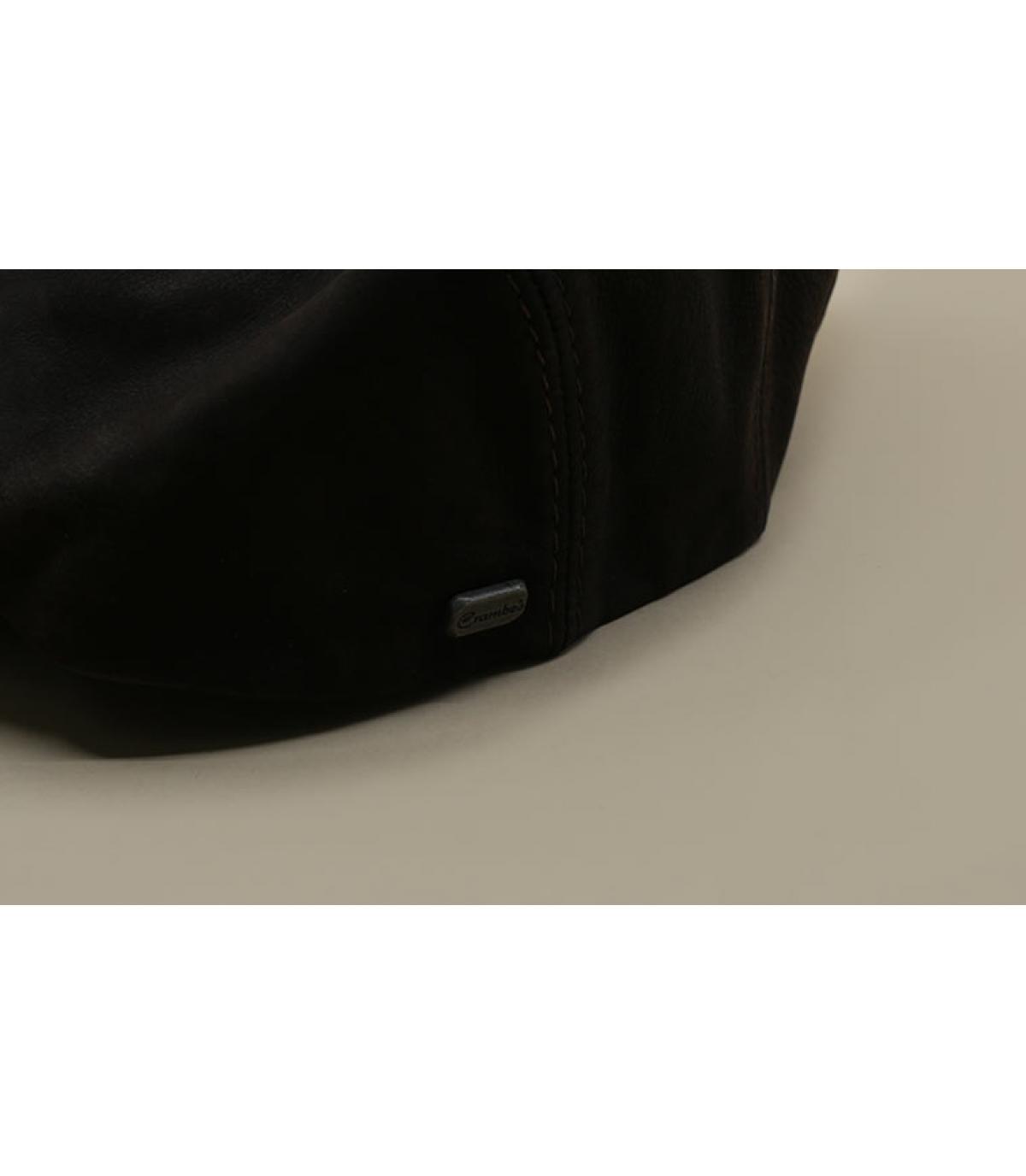 Details Daffy Cuir Nappa Wax braun - Abbildung 3