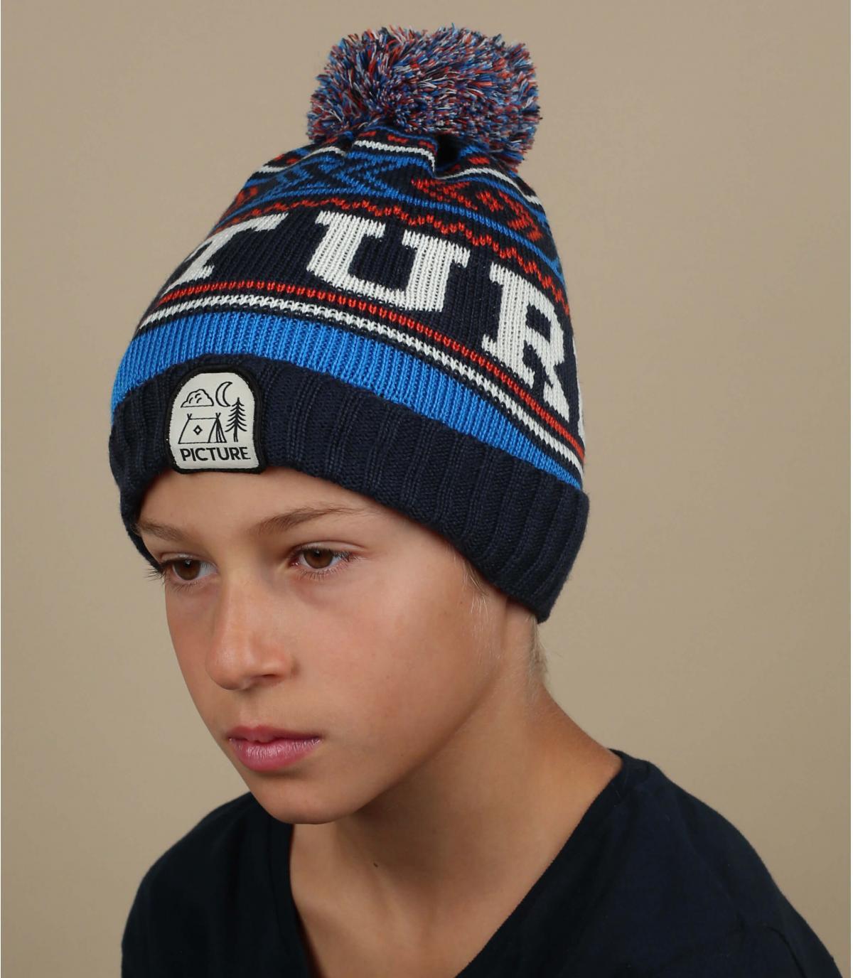 Kinder Mütze blau Picture