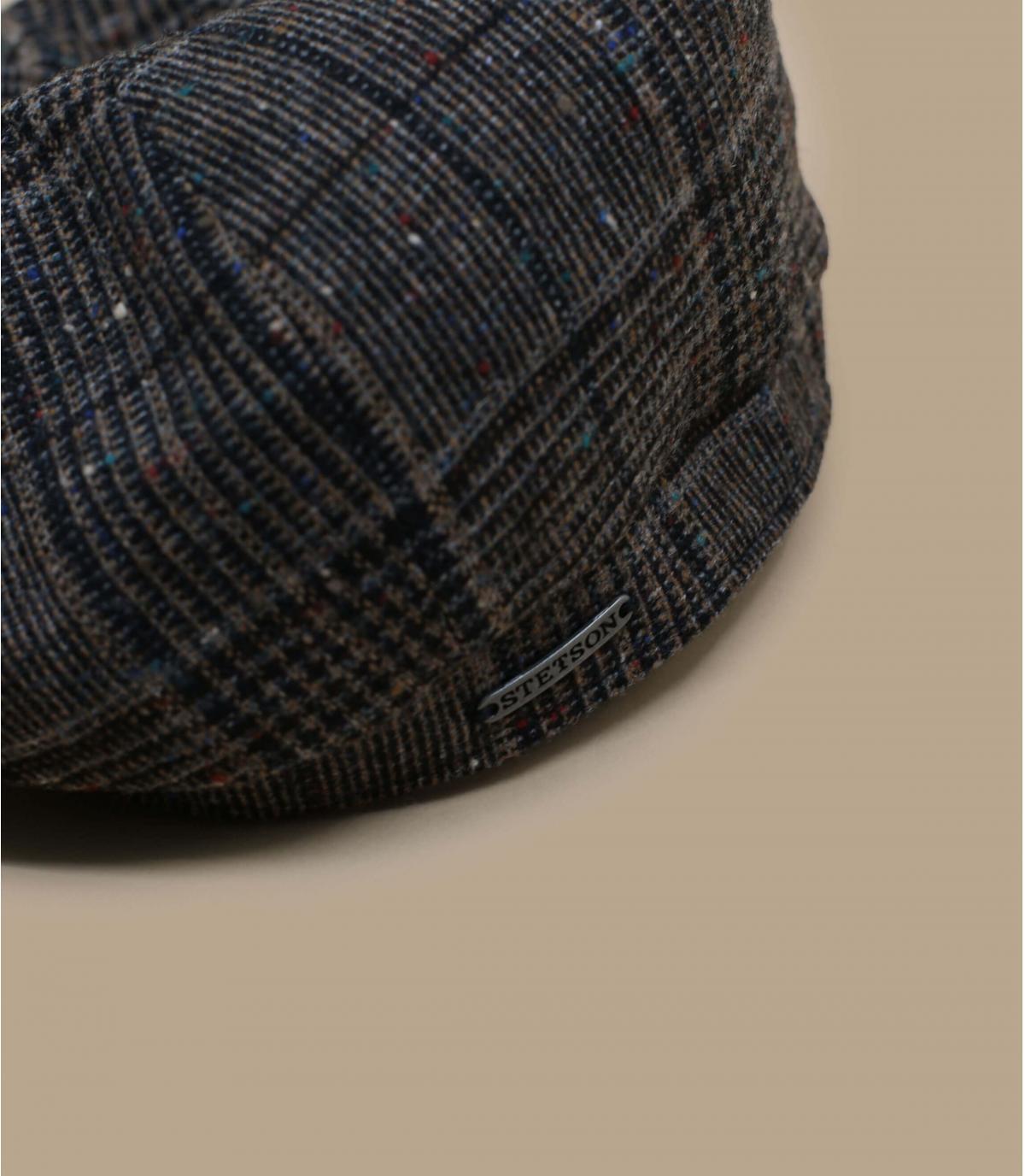 Details Hatteras Wool brown check - Abbildung 2