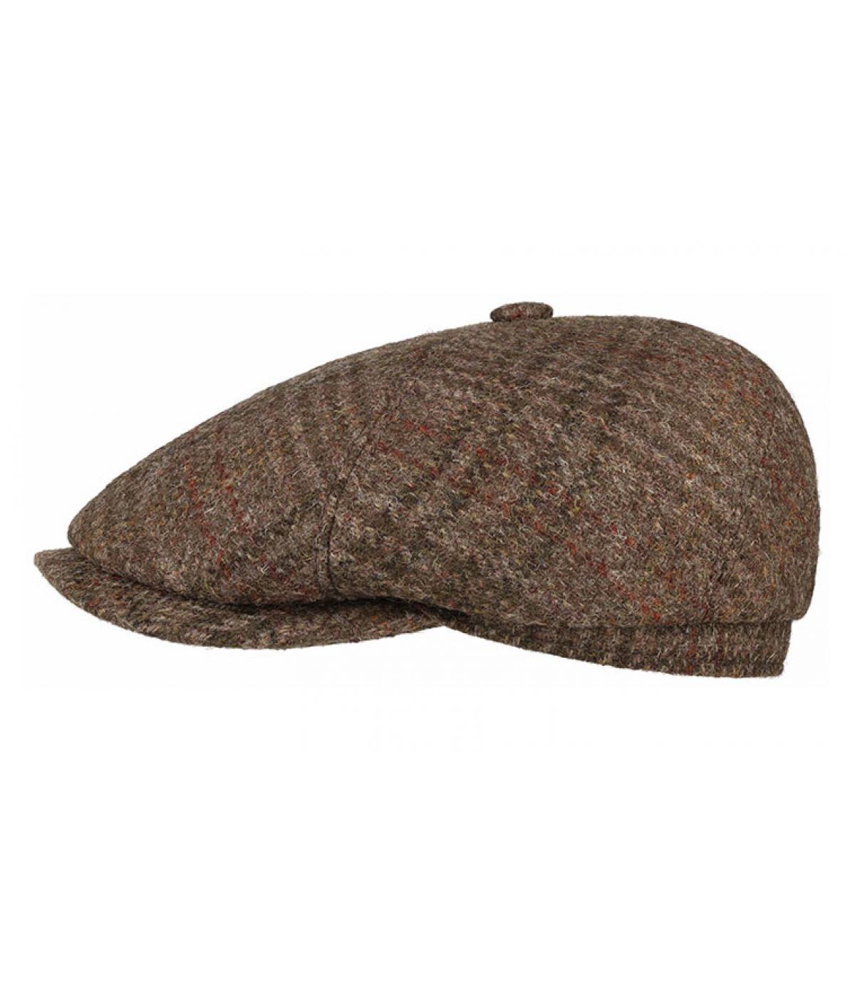 Ballonmütze Harris Tweed Wolle