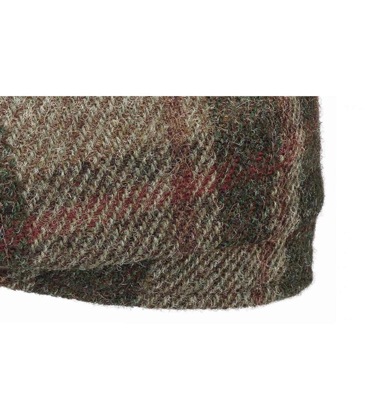 Details Hatteras Virgin Wool check beige olive - Abbildung 3