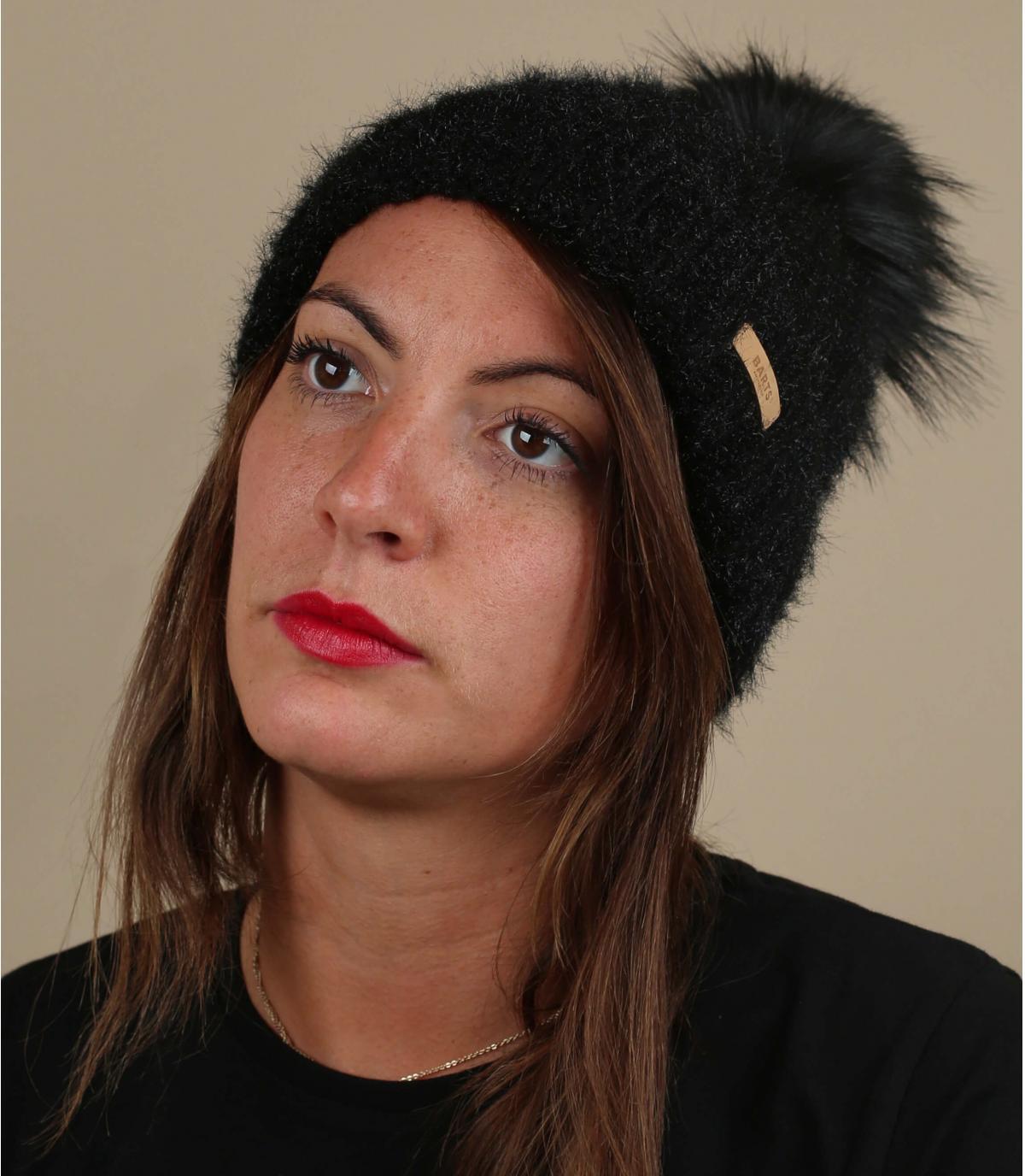 Schwarze Mütze Fellbommel