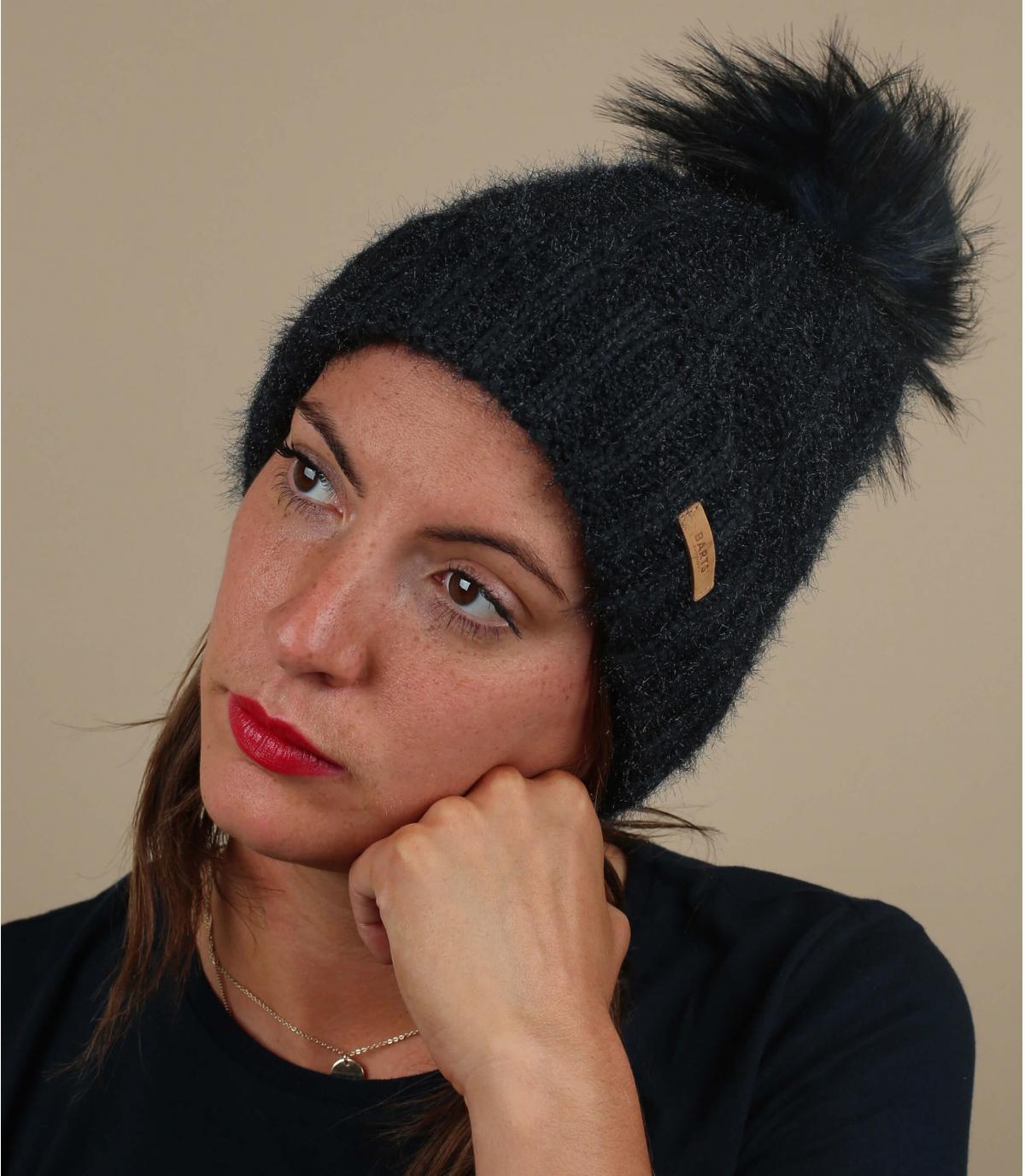 Blaue Mütze Fellbommel
