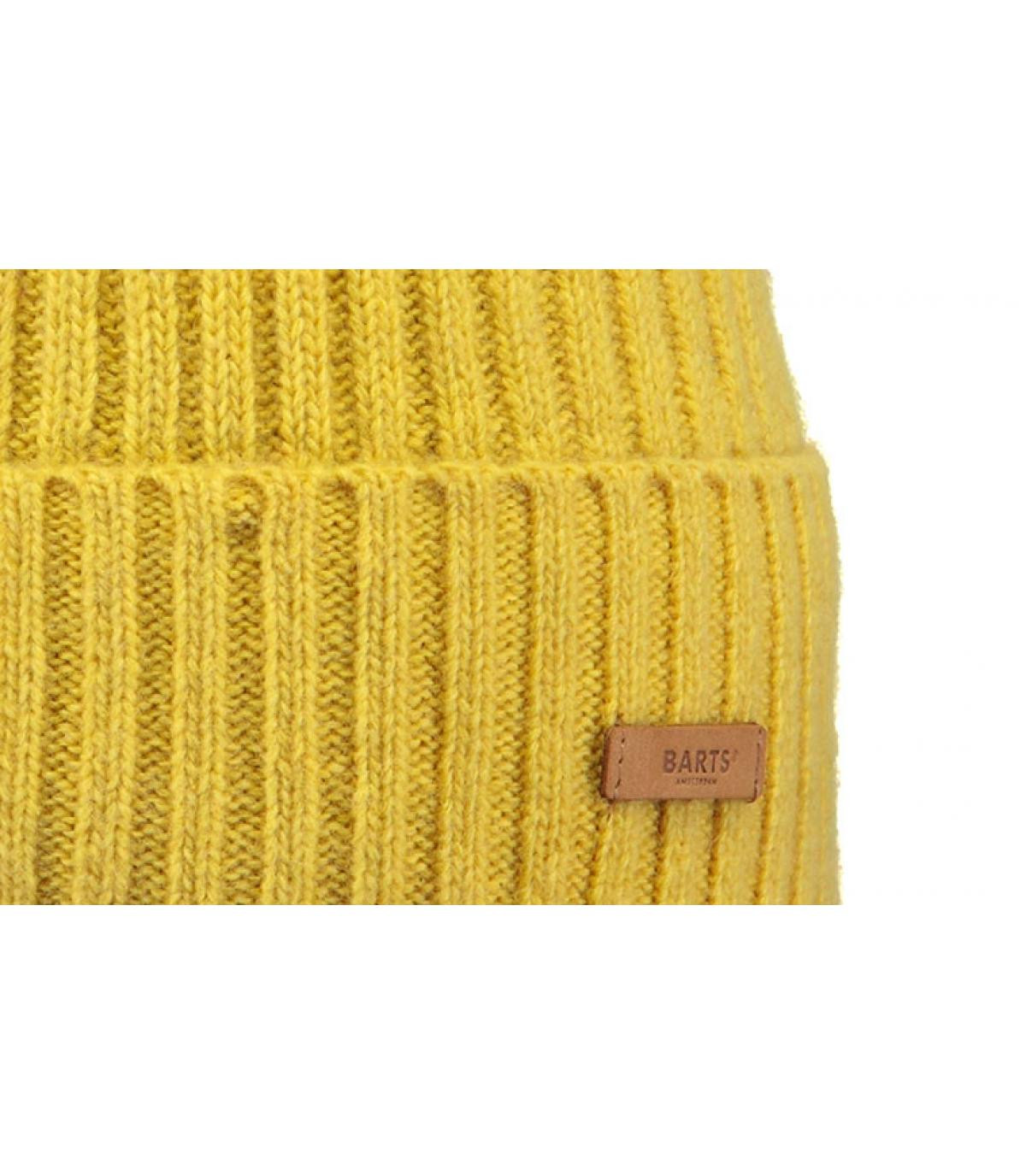 Details Augusti Beanie yellow - Abbildung 3