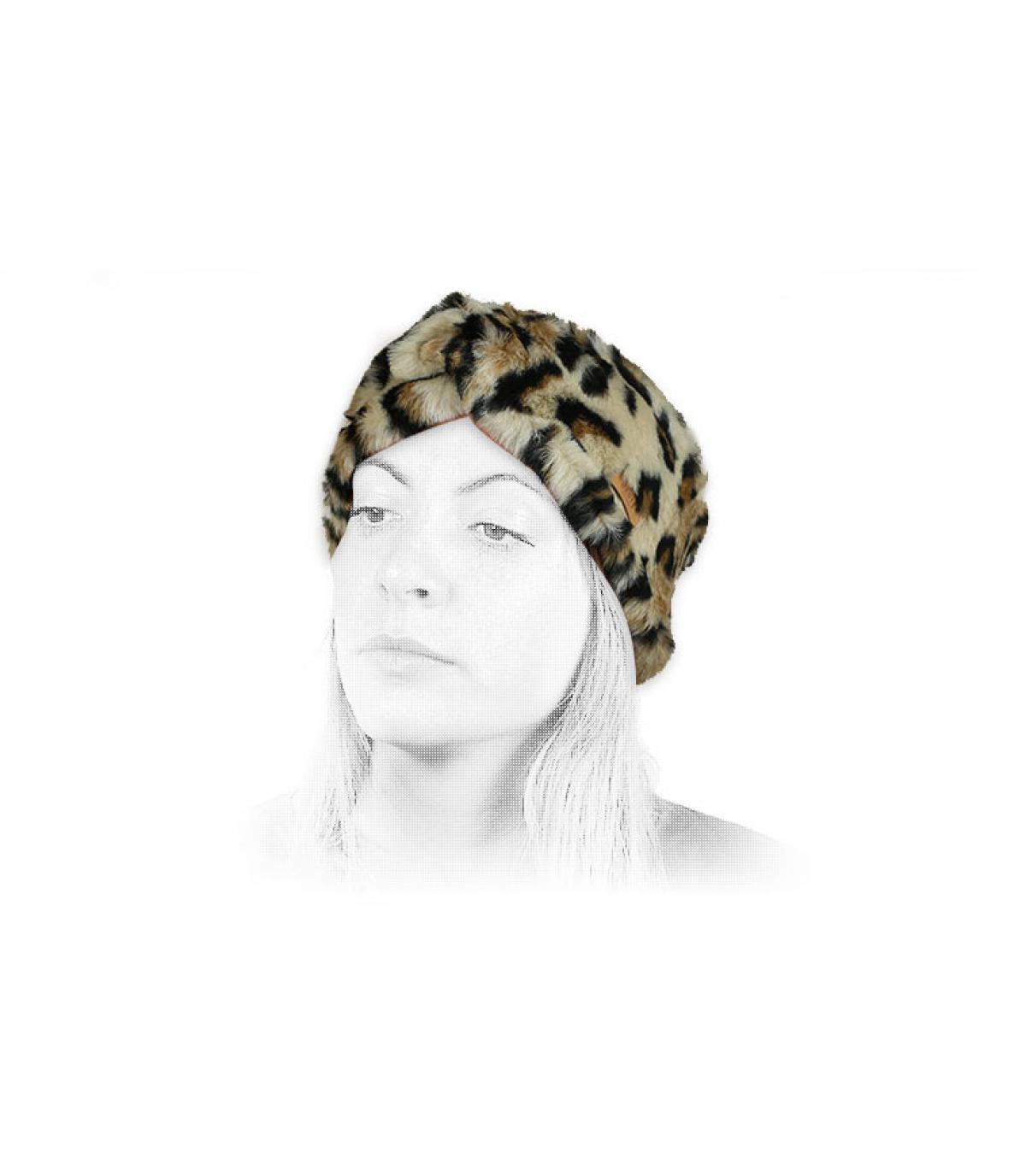 Details Aster Headband leopard - Abbildung 4