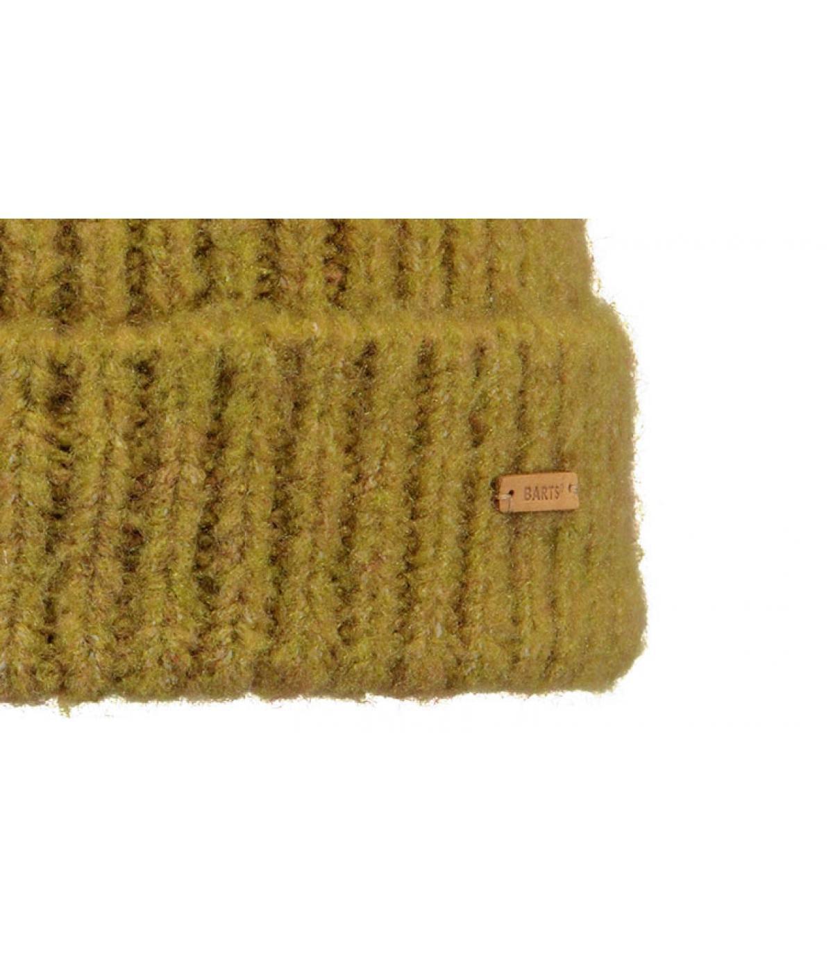 Details Adena Beanie mustard - Abbildung 3