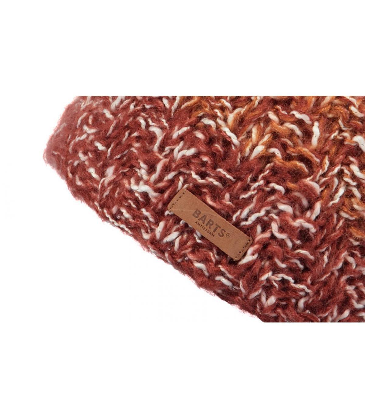 Details Spectacle Beanie Rust - Abbildung 3
