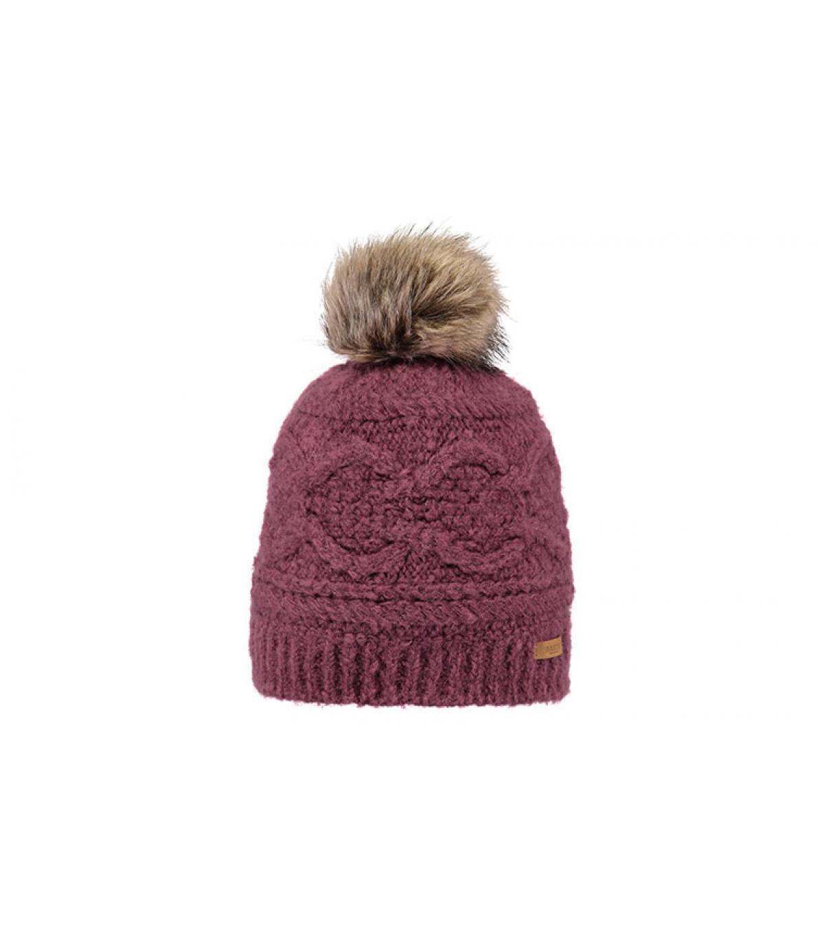 Mütze bordeaux Fellbommel