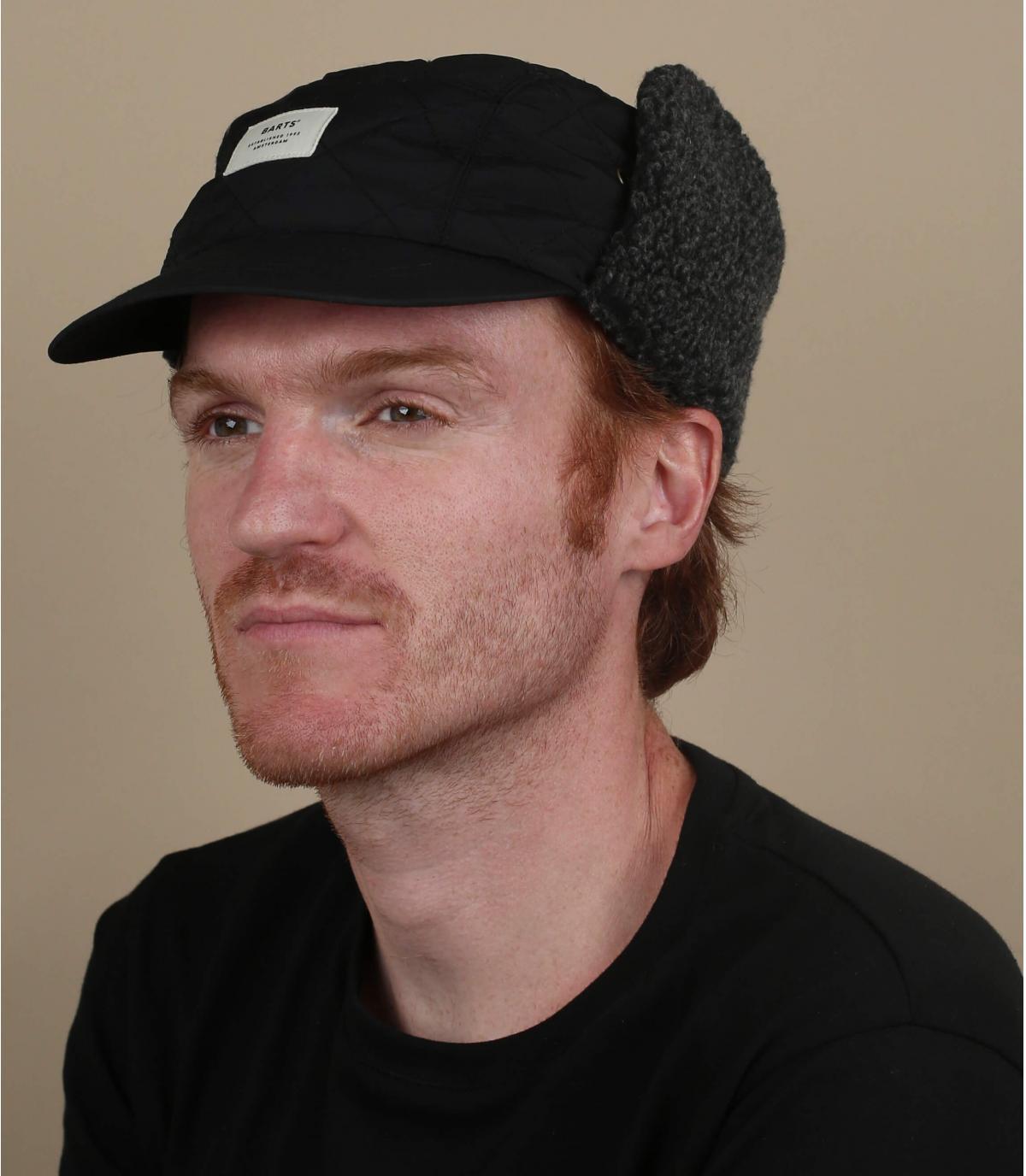 Winter Caps Ohrenschützer schwarz