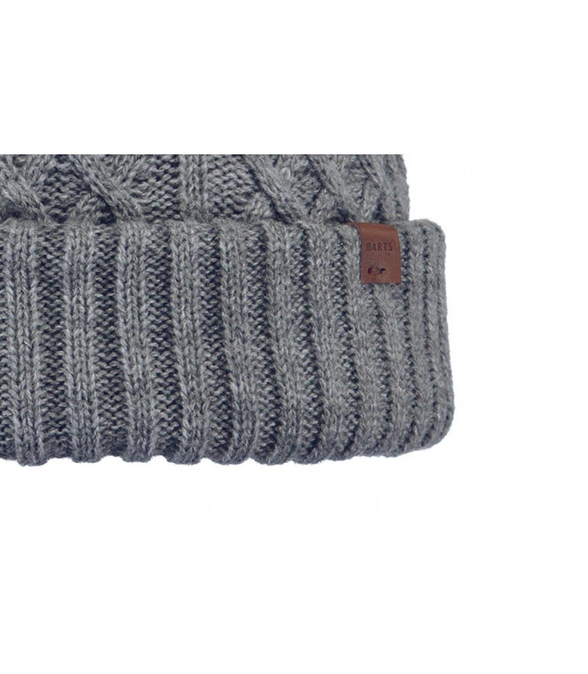 Details Mallard Beanie heather grey - Abbildung 3
