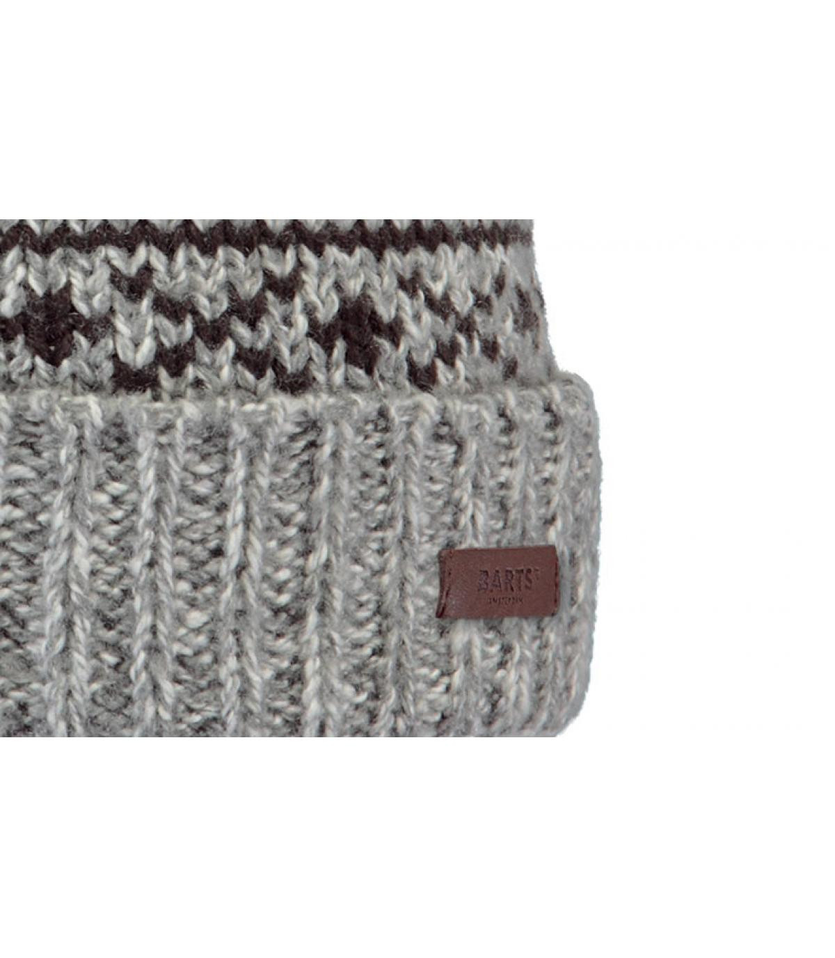 Details Cartonn Beanie heather grey - Abbildung 3