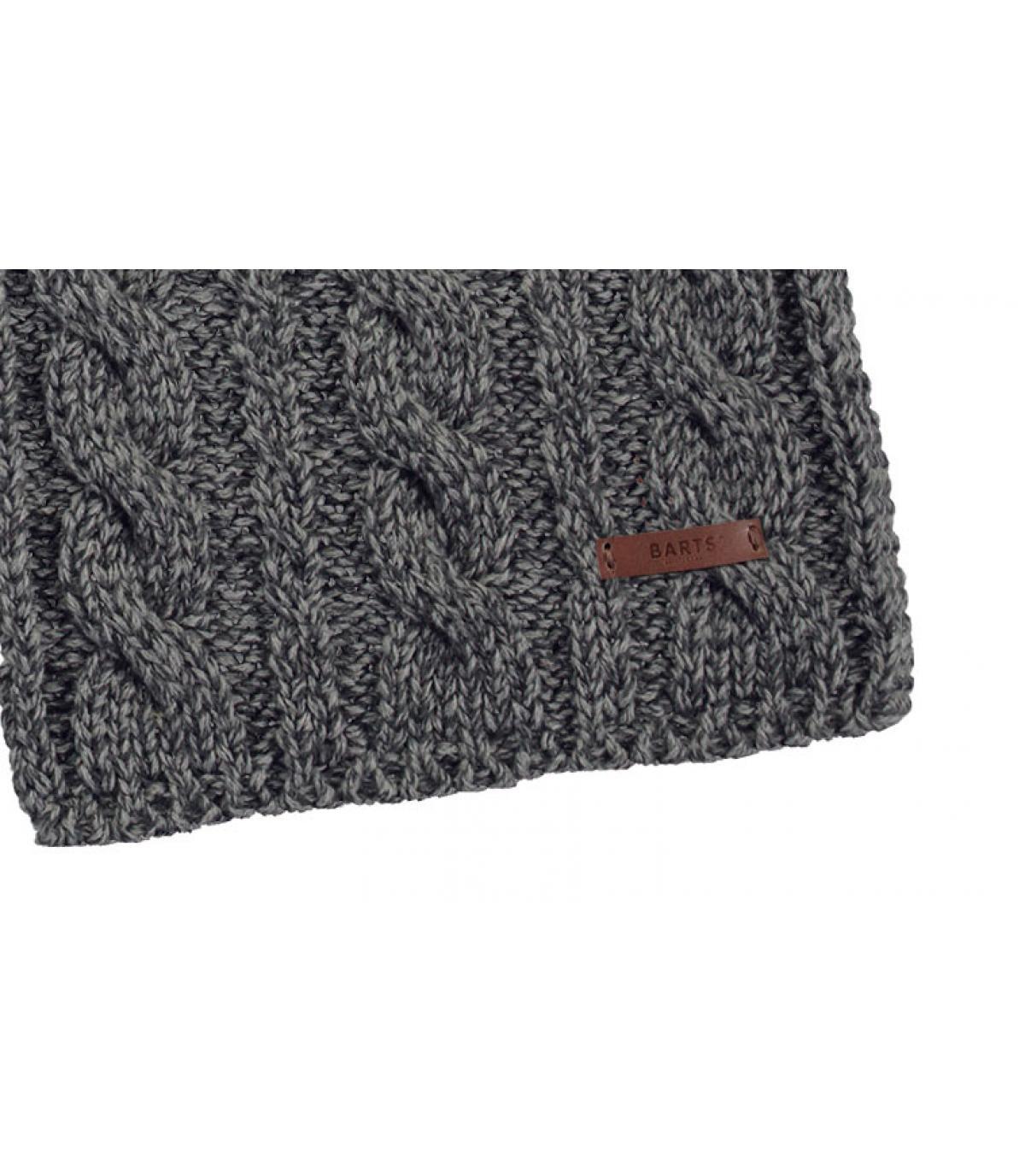 Details Twister Scarf heather grey - Abbildung 2