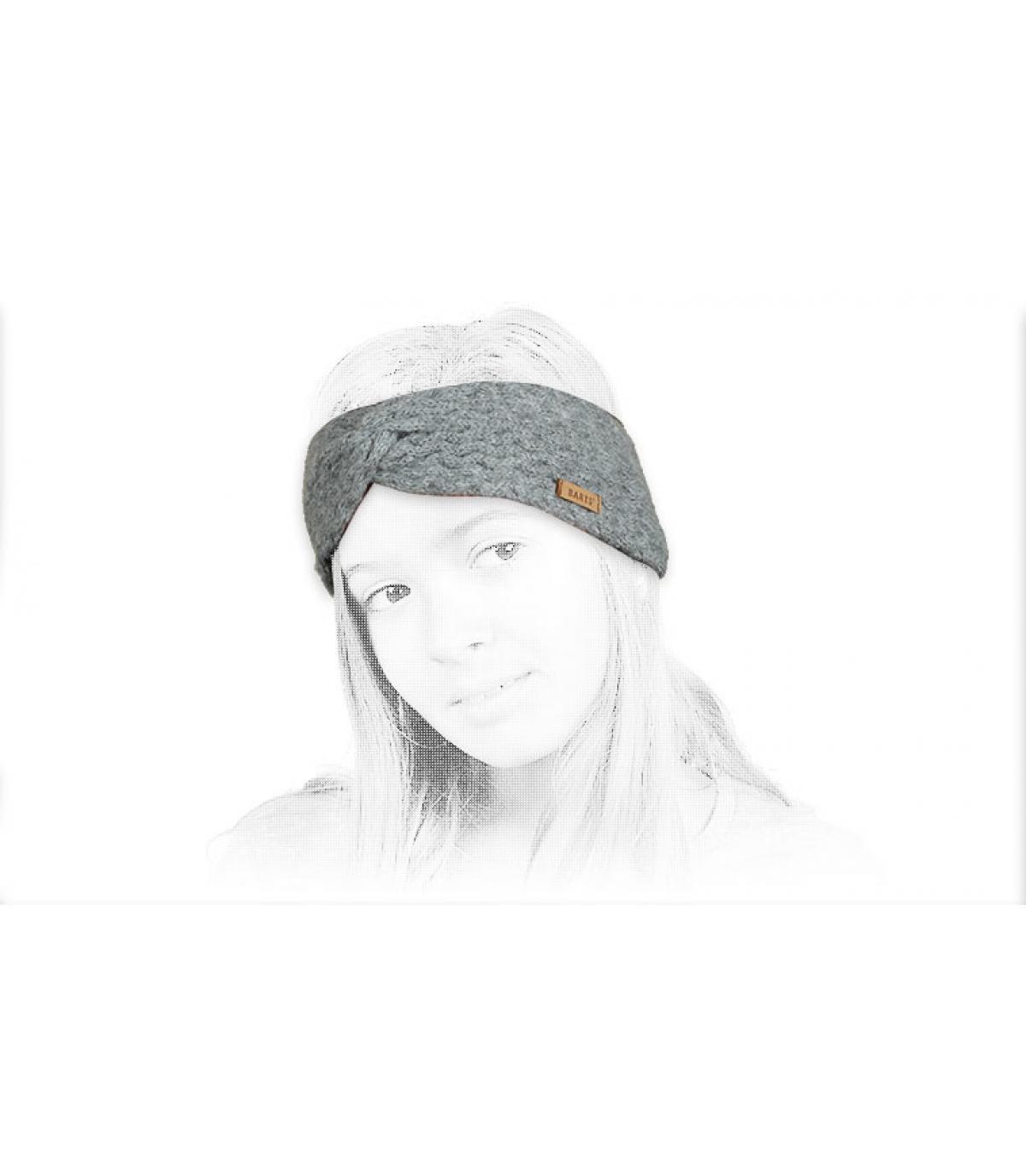 Details Kids Rozamond Headband heather grey - Abbildung 4