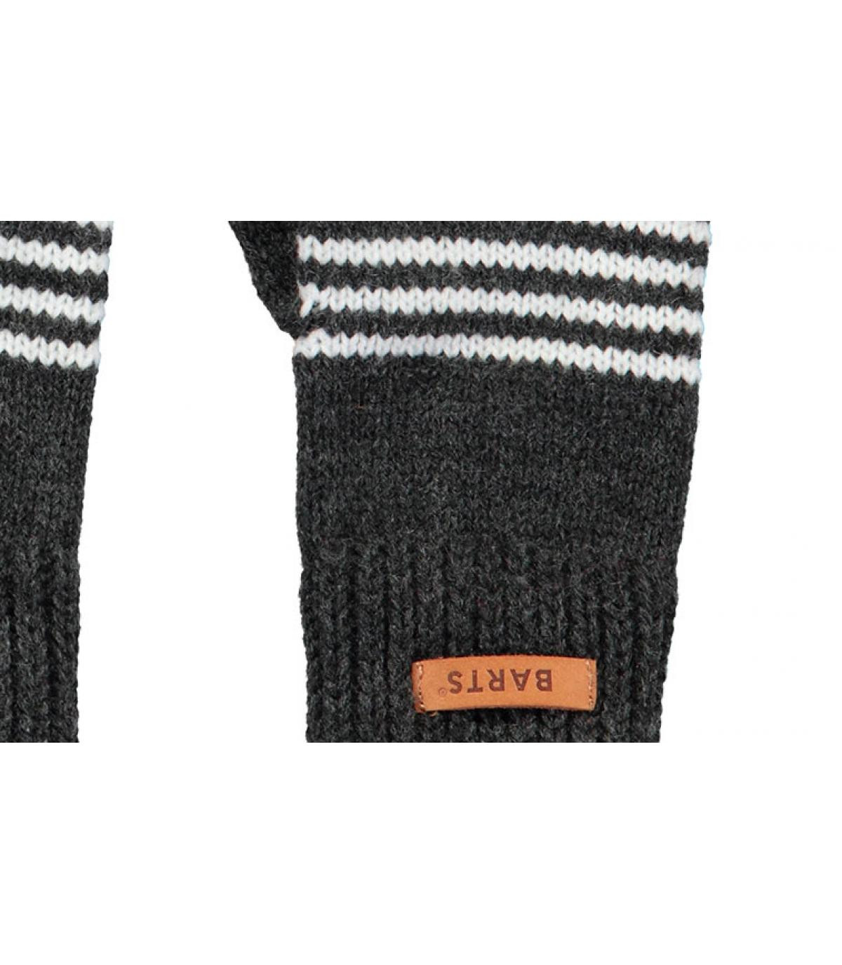 Details Kids Puppet Gloves dark heather - Abbildung 2