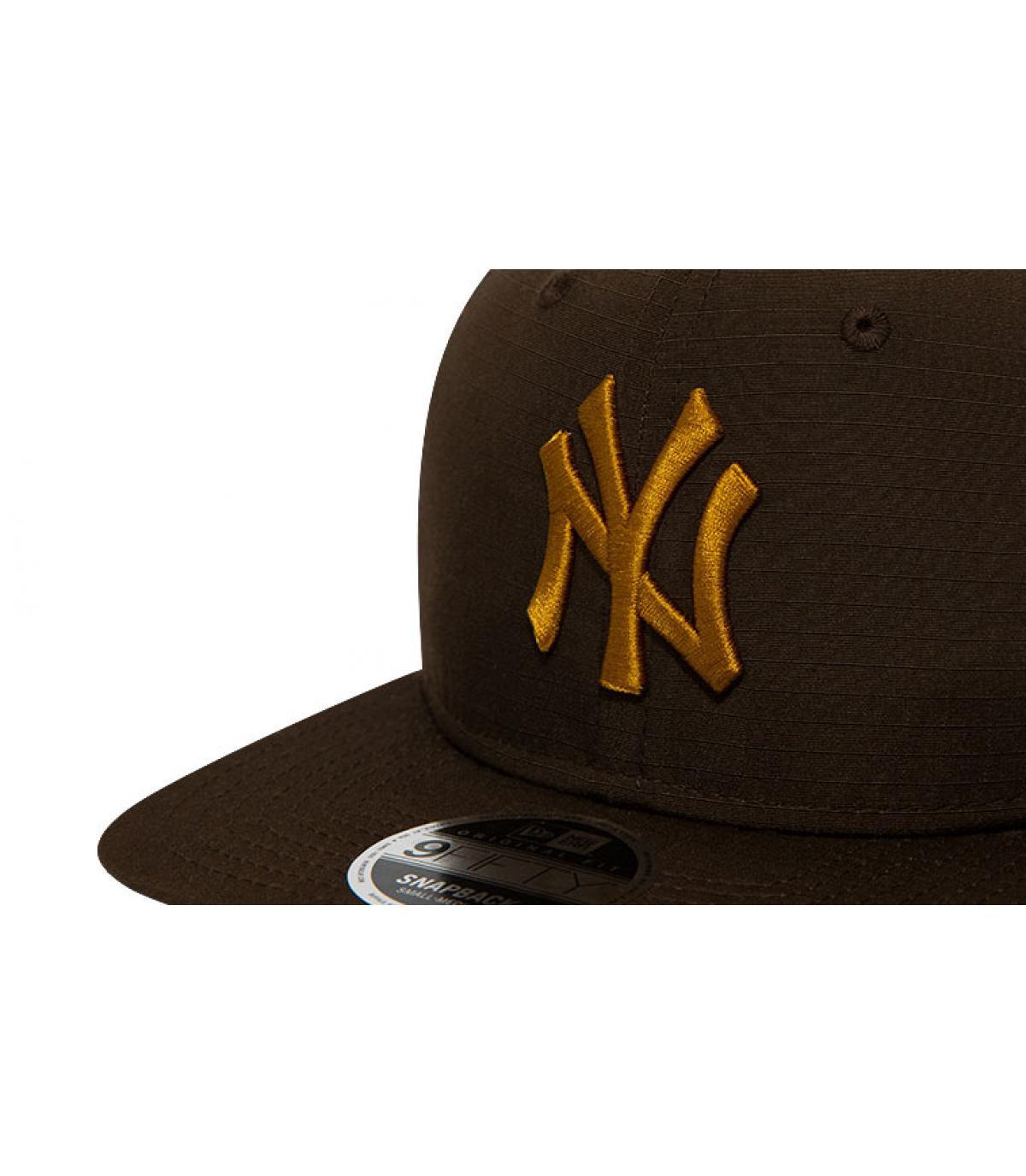Details Snapback MLB Utility NY 950 brown old gold - Abbildung 3