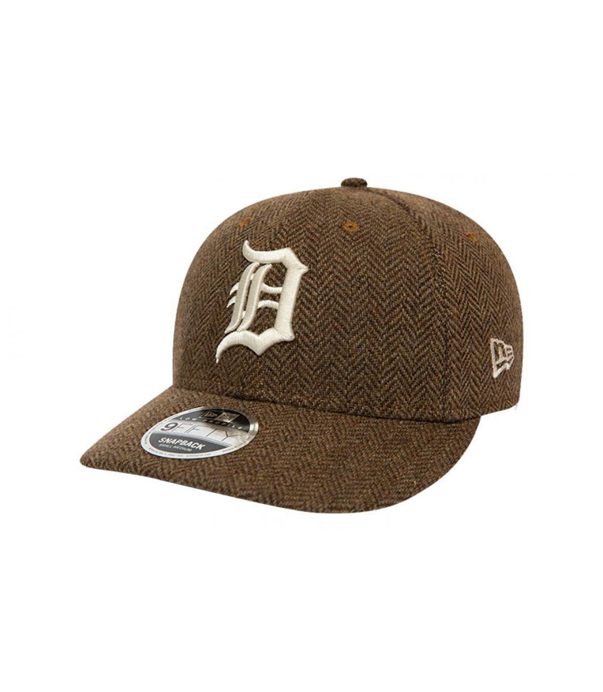 Details Snapback MLB Tweed Detroit 950 old gold - Abbildung 2