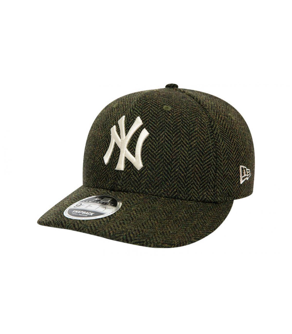 Details Snapback MLB Tweed NY 950 army green - Abbildung 2