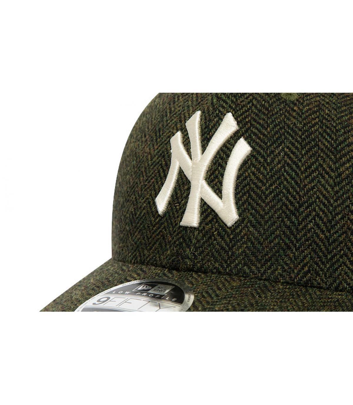 Details Snapback MLB Tweed NY 950 army green - Abbildung 3
