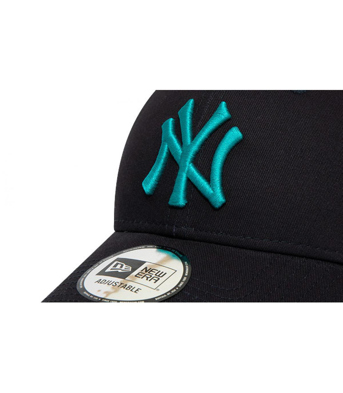 Details Cap League Ess NY 940 navy teal - Abbildung 3