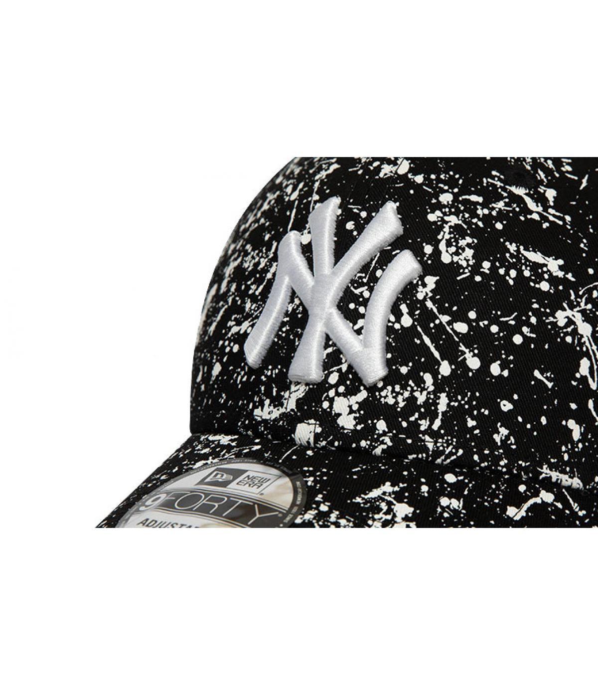 Details Cap MLB Paints NY 940 black - Abbildung 3