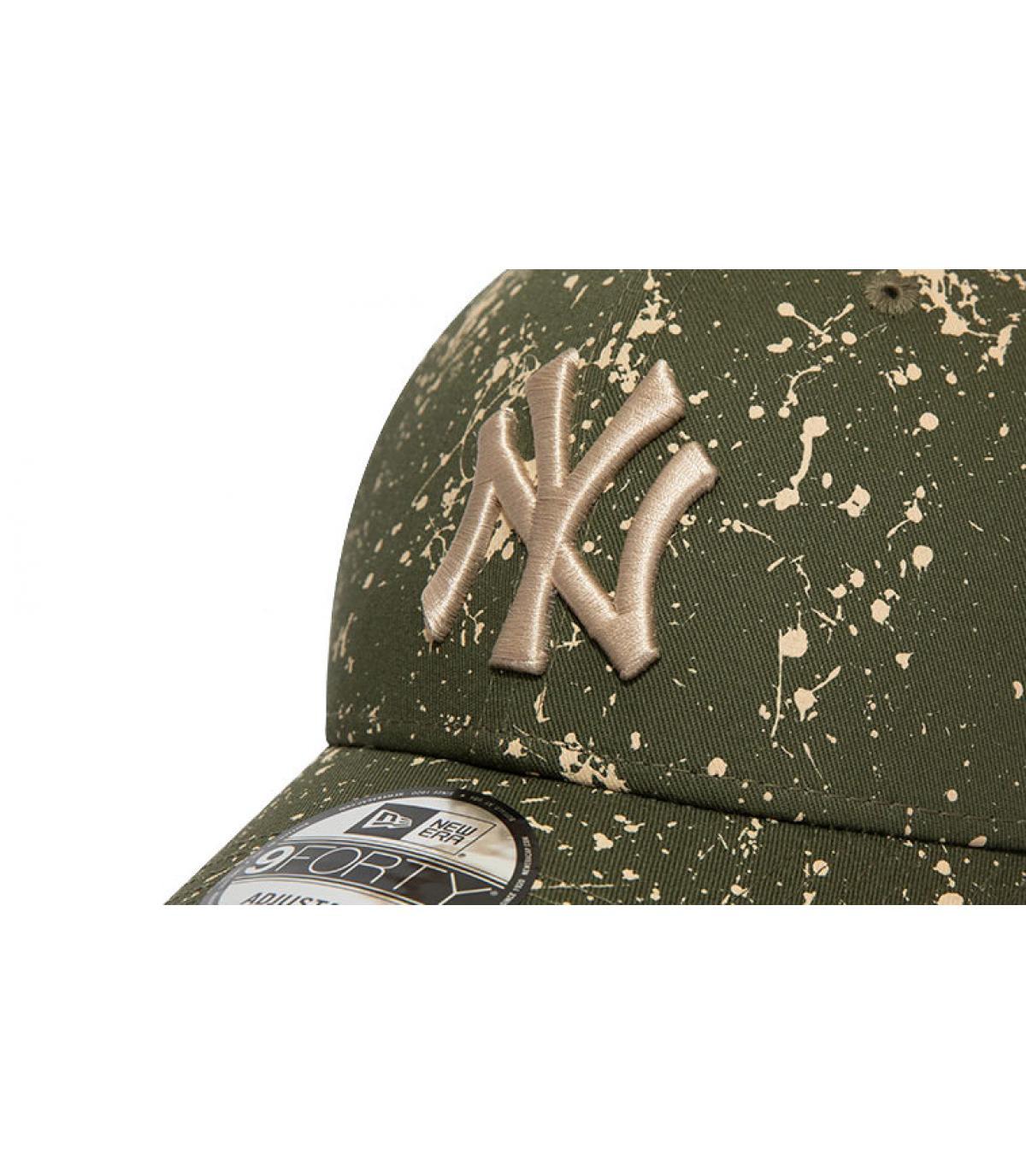 Details Cap MLB Paints NY 940 olive - Abbildung 3