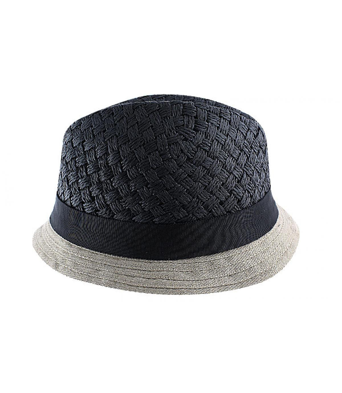 Céline Robert schwarzer Hut